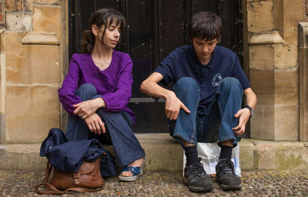 "Asa Butterfield is Nathan Ellis and Sally Hawkins is his mother, Julie, in ""A Brilliant Mind."""