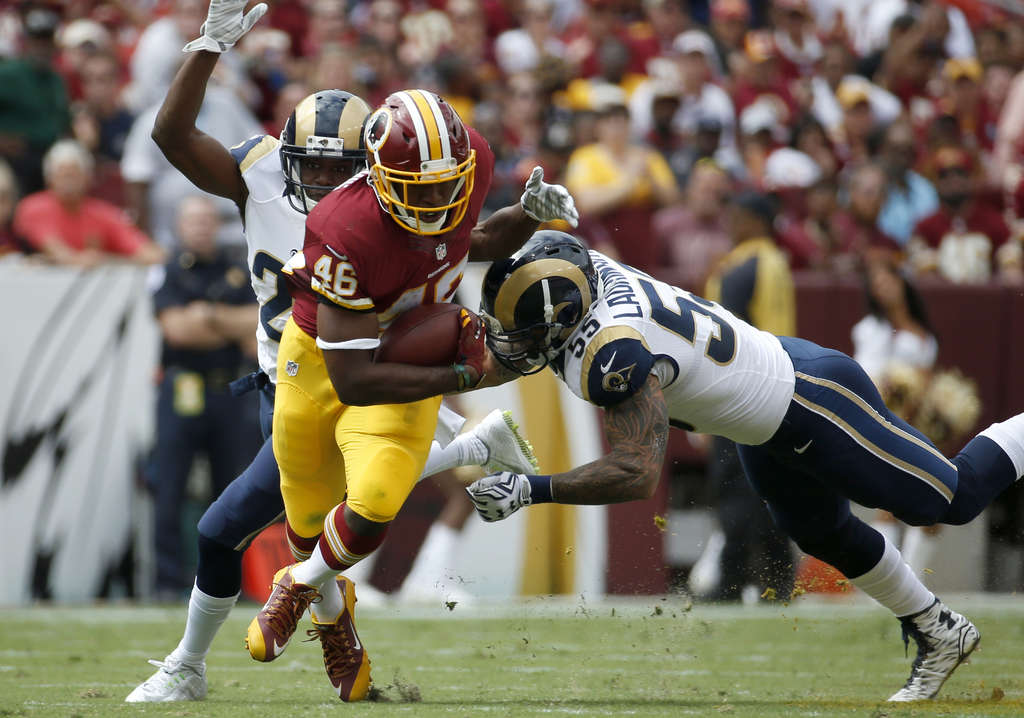 ASSOCIATED PRESS Redskins running back Alfred Morris will test the Eagles´ defense.