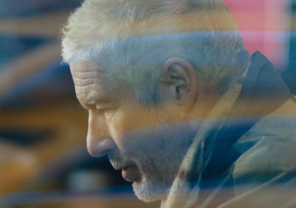Richard Gere as homeless man George, lost, broken, bruised. ALLISON ROSA /IFC Films
