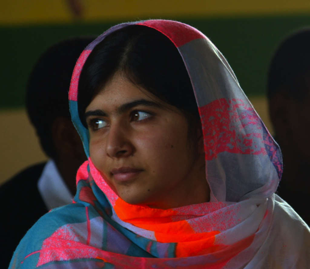 Malala Yousafzai , youngest Nobel Peace Prize-winner. Fox Searchlight