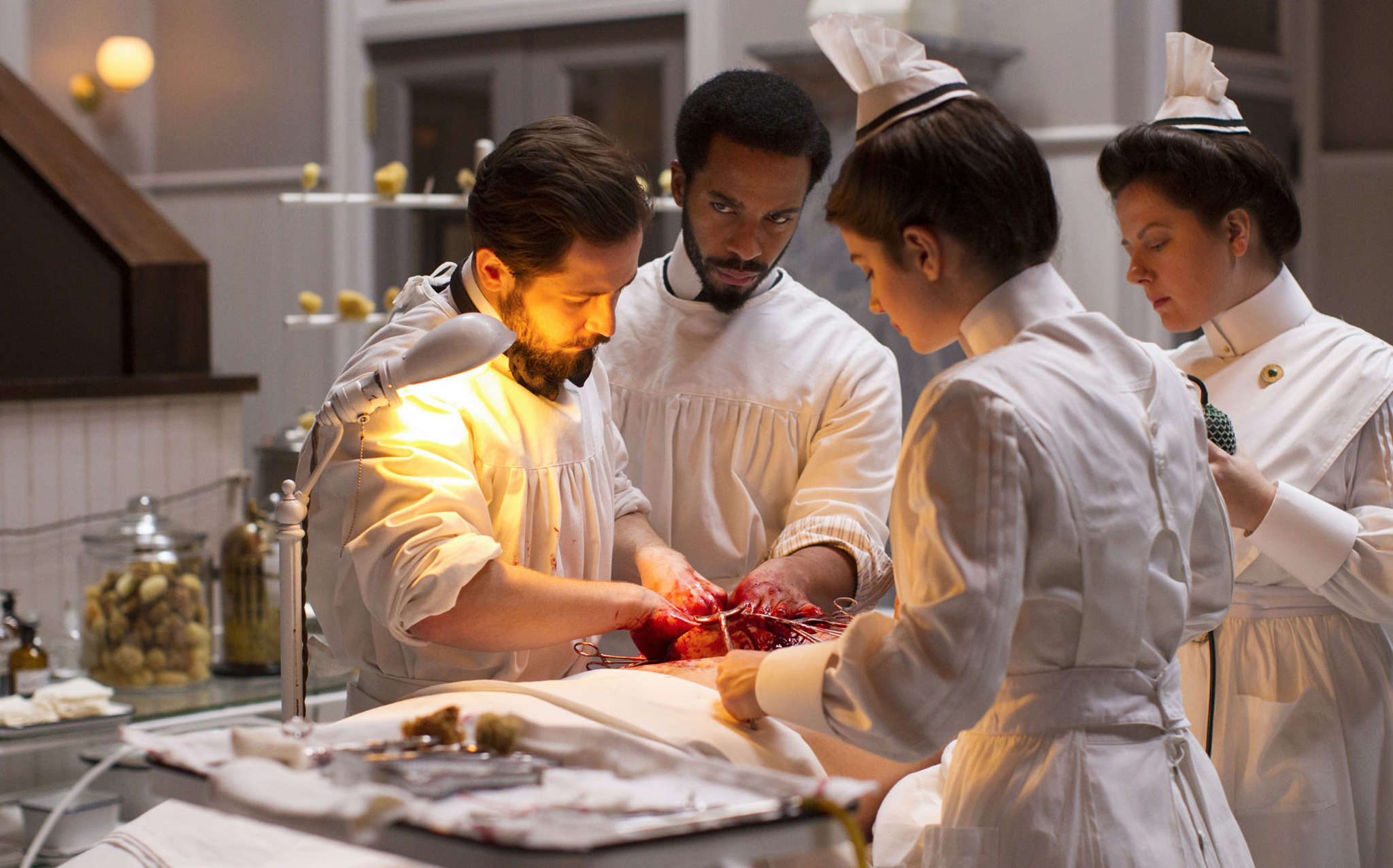 "Cutting-edge, bleeding-edge - the medicine practiced in ""The Knick"" was advanced for its time, but to us frighteningly primitive, as ours will likely appear to those who follow."