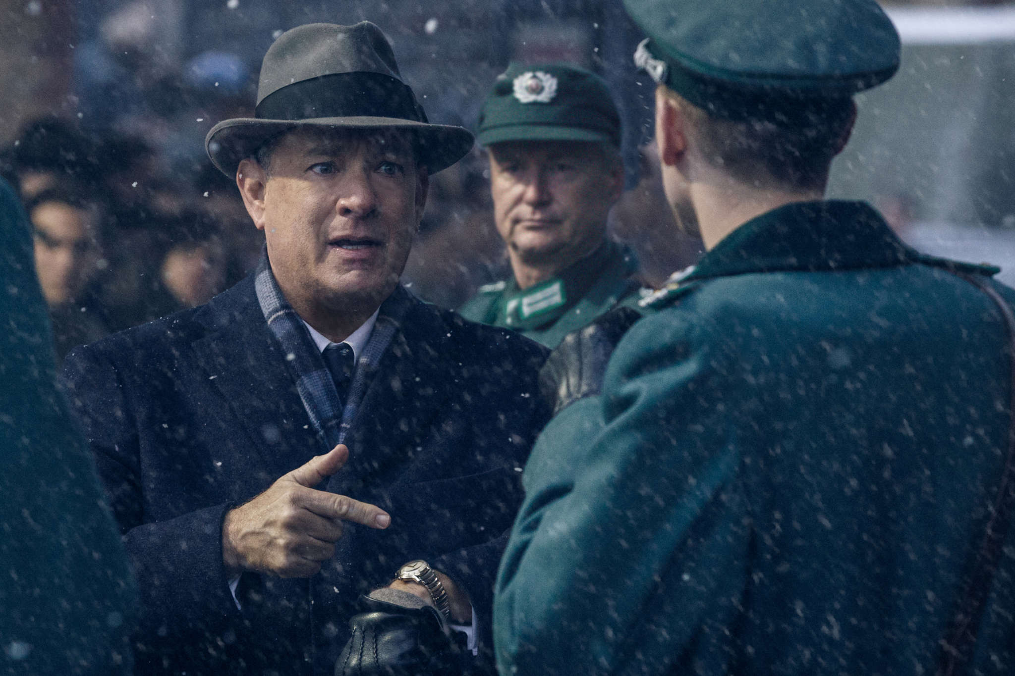 "Tom Hanks in the Cold War thriller ""Bridge of Spies."""
