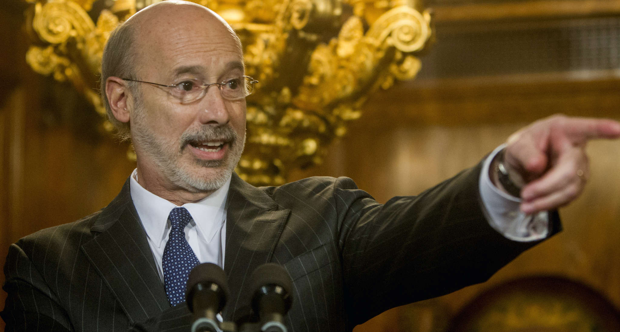 Gov. Wolf could have negotiated with the Legislature on pensions and state stores instead of playing hardball, Baer says.