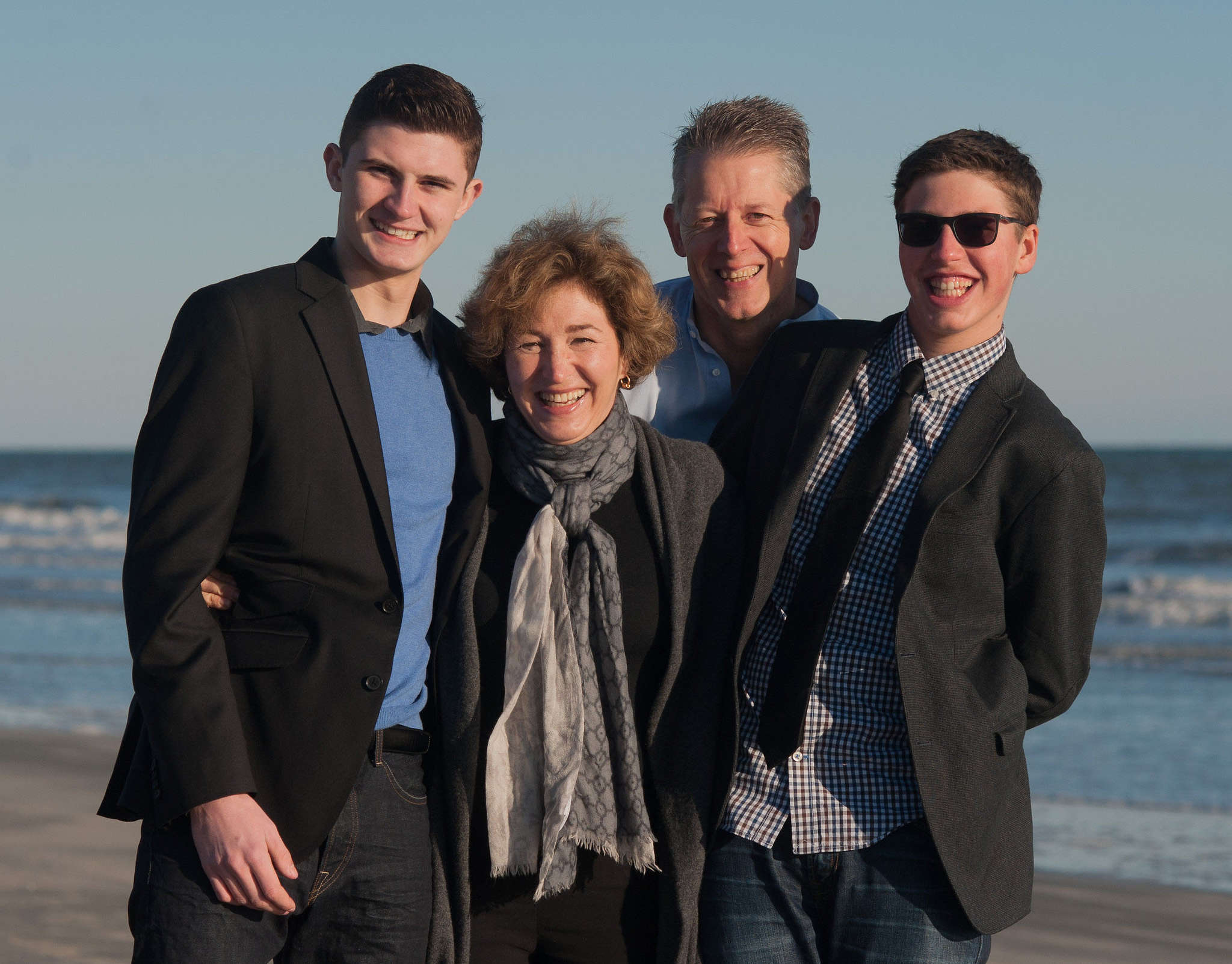 Anne-Marie Slaughter, husband Andrew Moravcsik, and their sons Edward and Alexander. Her new book explores what it takes for workers to compete and care - and to have it all.