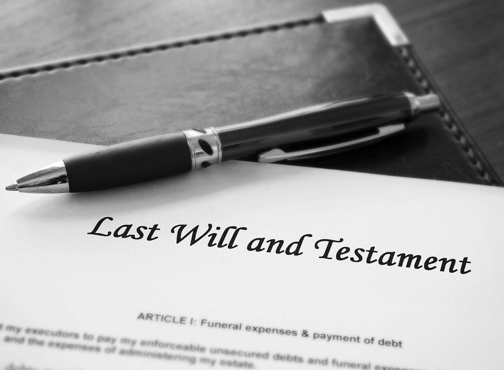 SHUTTERSTOCK More than 60% of Americans don´t have a will, a recent poll finds.