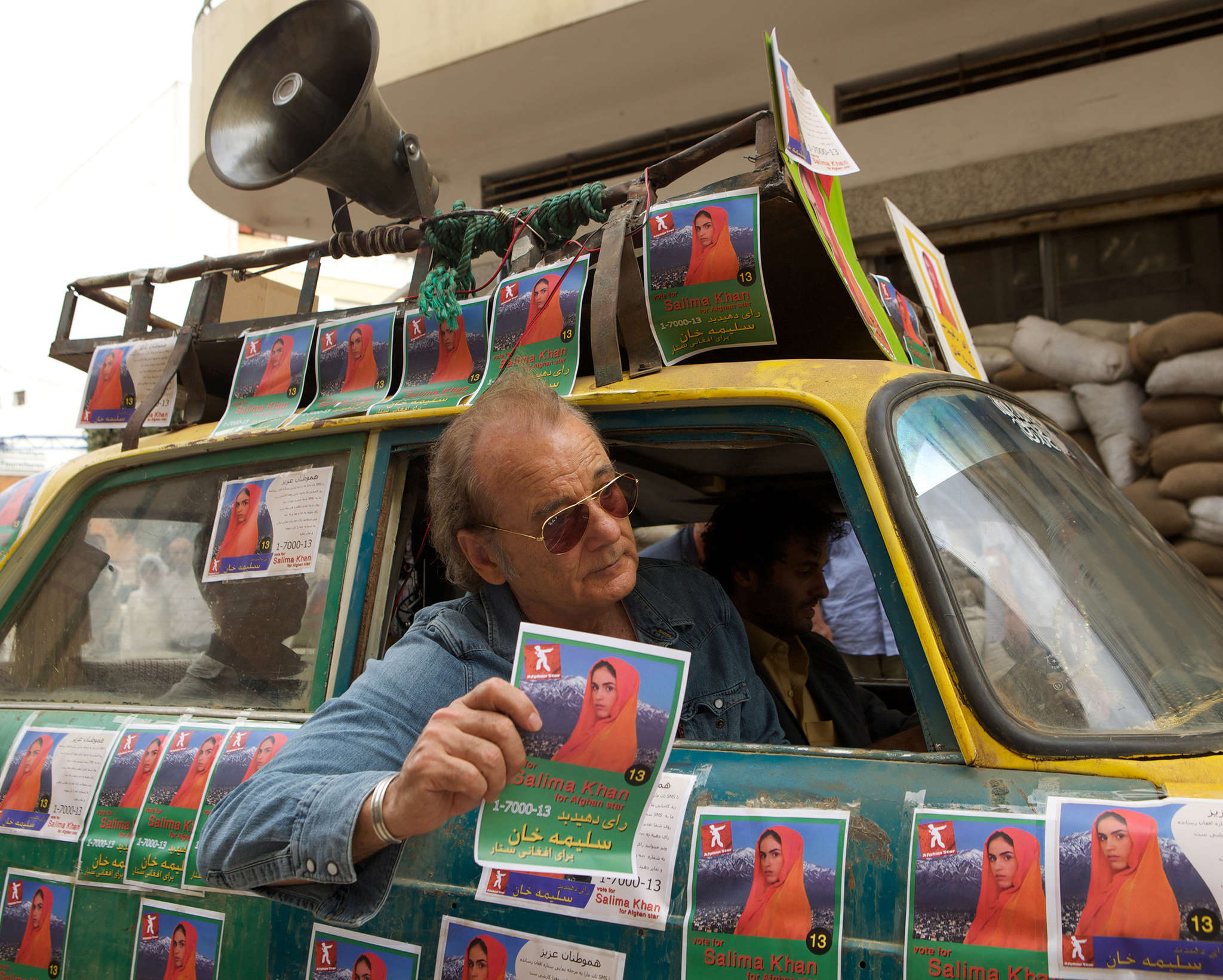 "Bill Murray plays a talent manager in wartorn Kabul in ""Rock the Kasbah,"" filled with overt sex and unsettling cultural stereotypes."