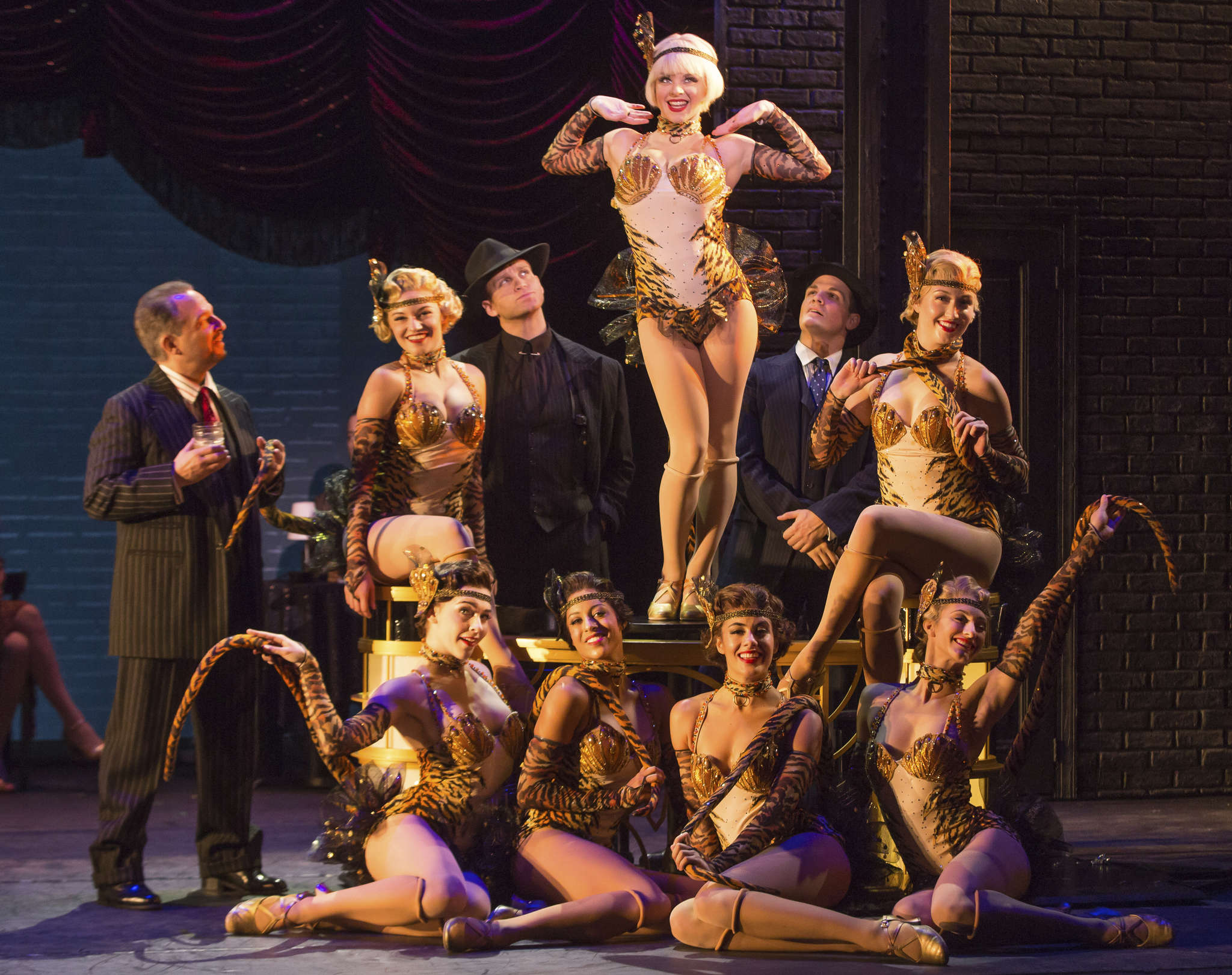 """""""Bullets Over Broadway,"""" a musical version of Woody Allen´s film set in 1929 New York, features songs of the era. It´s at the Academy of Music through Sunday."""
