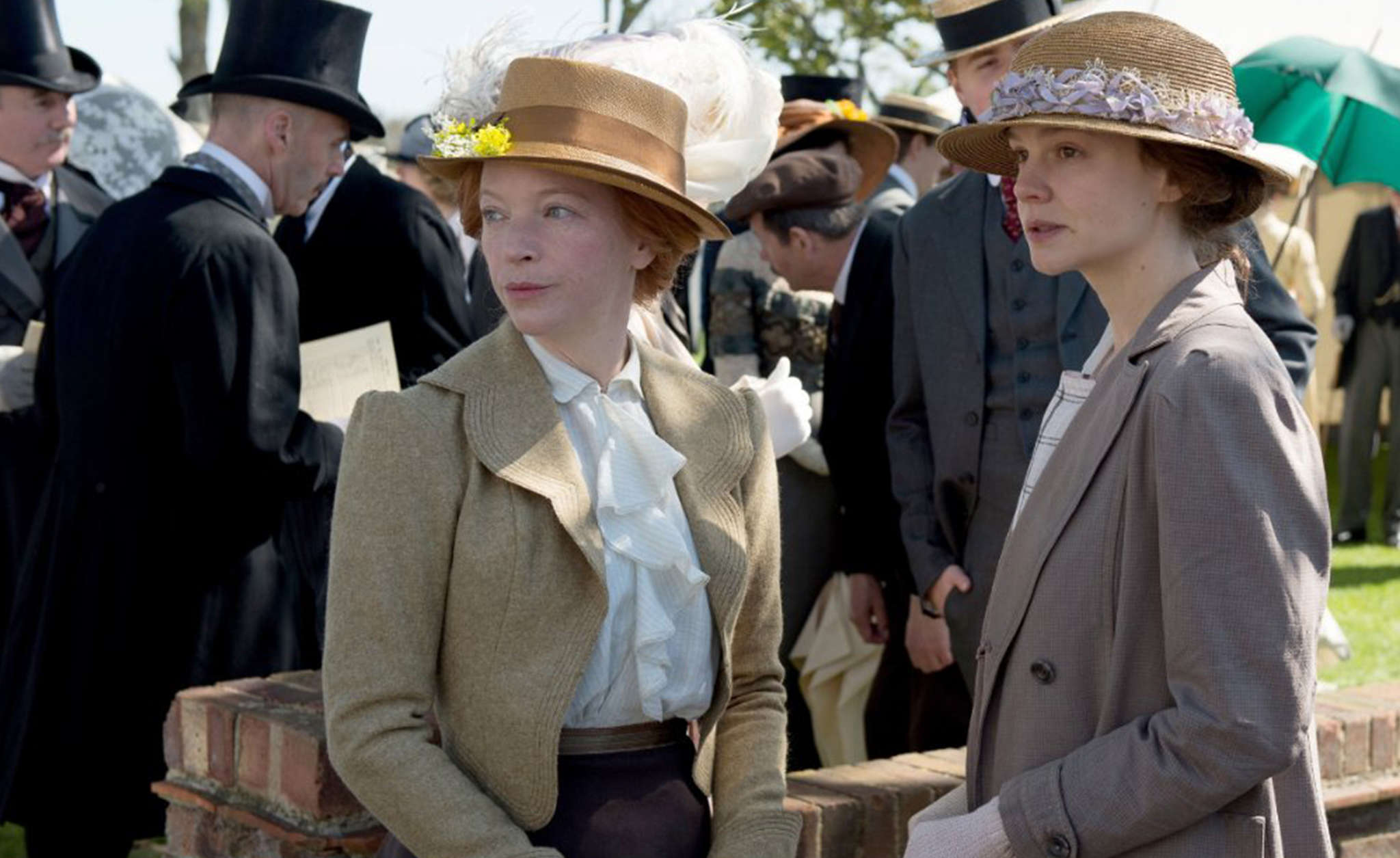 """Suffragette"" stars Natalie Press (left) and Carey Mulligan in a tale of a woman´s political awakening and radicalization."