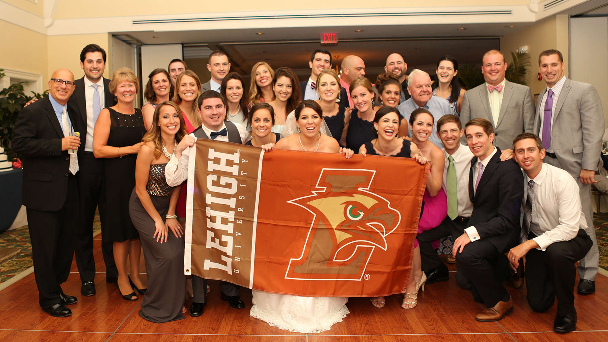 Other guests showing allegiance to Lehigh - Laura´s alma mater.