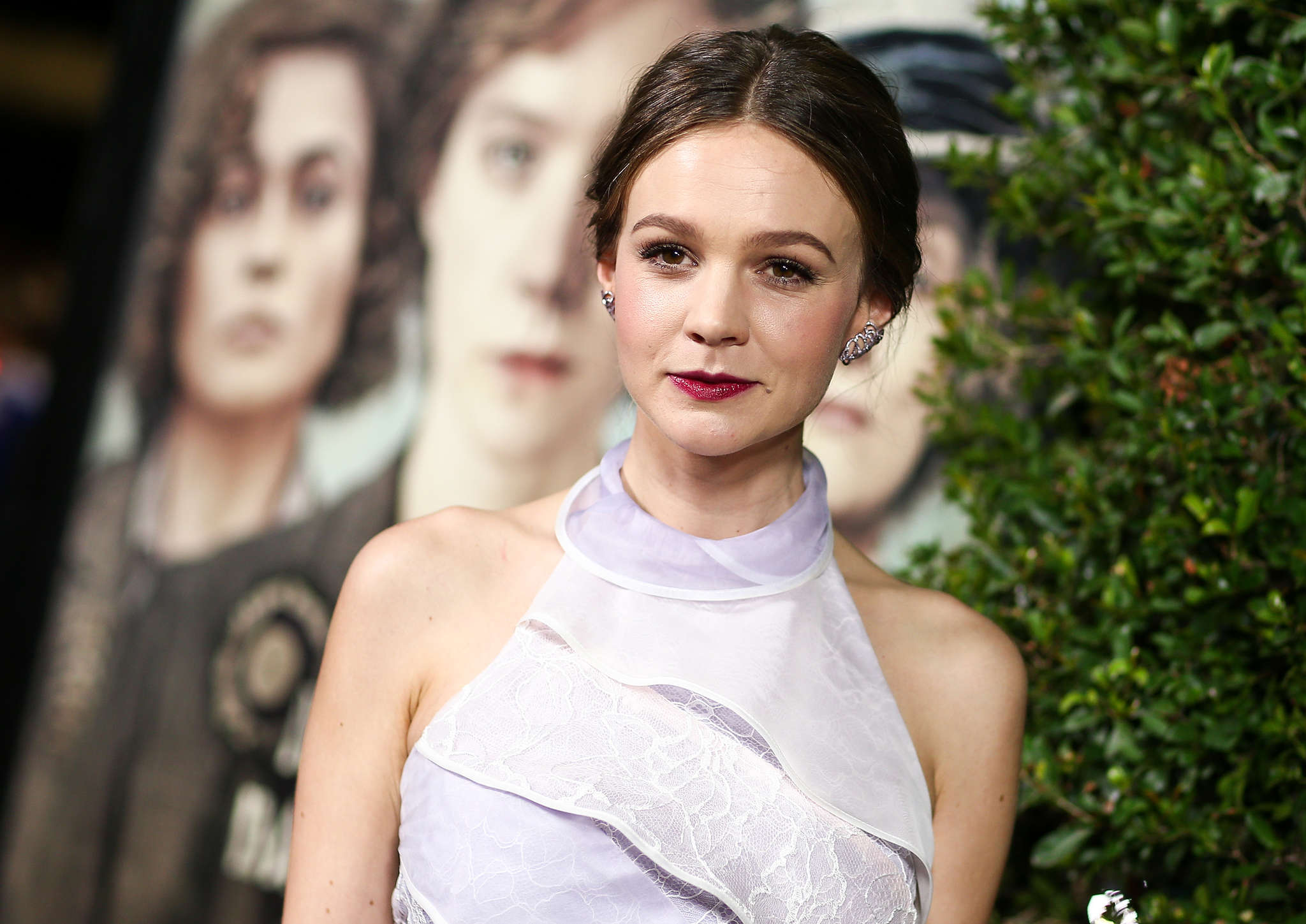 "Carey Mulligan plays a laundry worker who joins a group of female activists fighting, literally, for voting rights. Her role in ""Suffragette"" is based on real experiences of the suffrage movement."