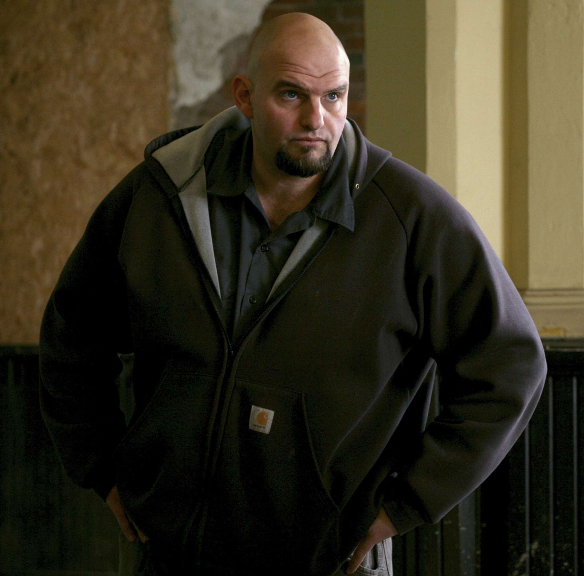 ASSOCIATED PRESS John Fetterman can handle the hurl. He got rave reviews from a guy who says he barfed all over the U.S. Senate candidate´s shoes.
