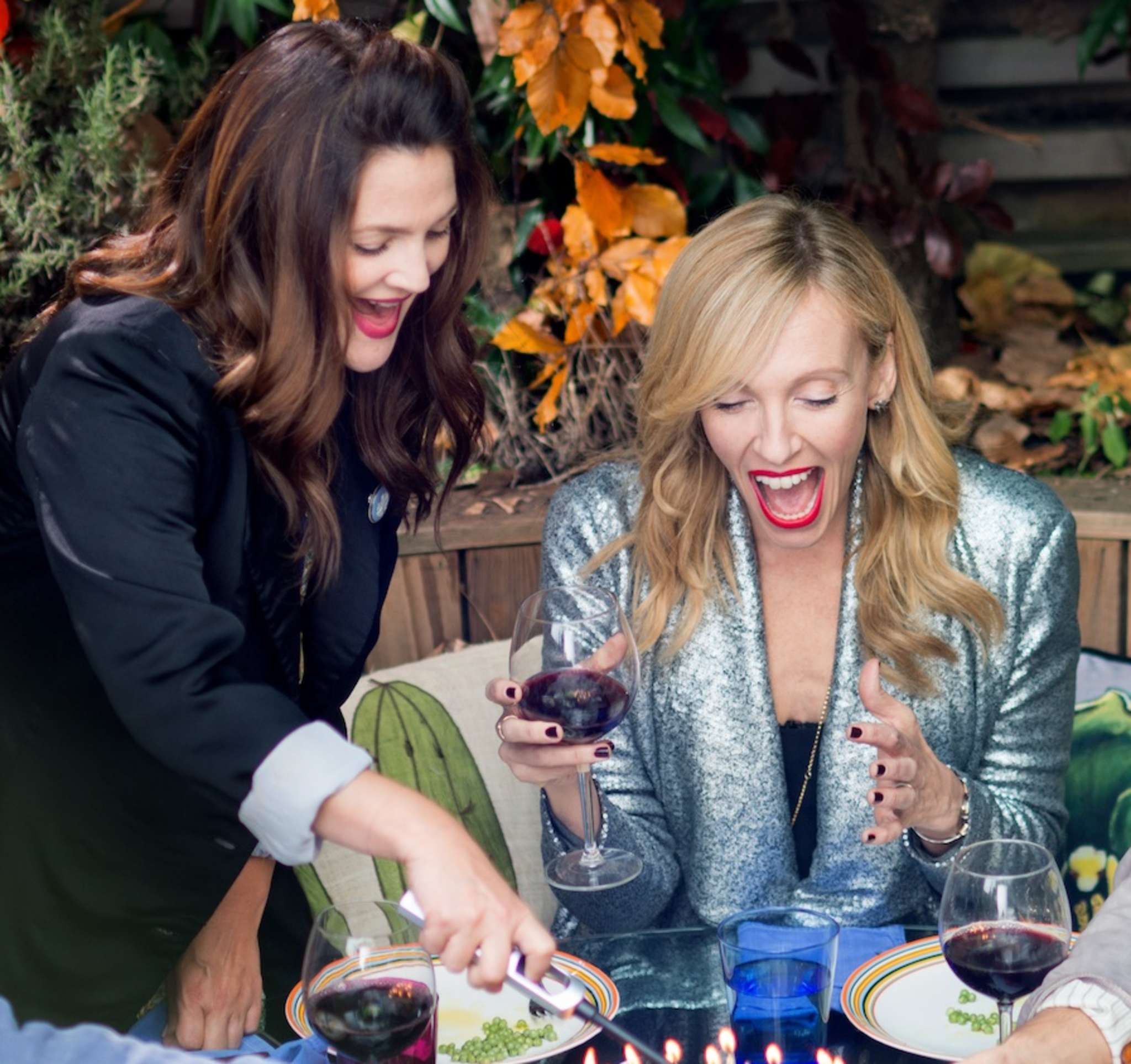 "Drew Barrymore and Toni Collette in ""Miss You Already."""