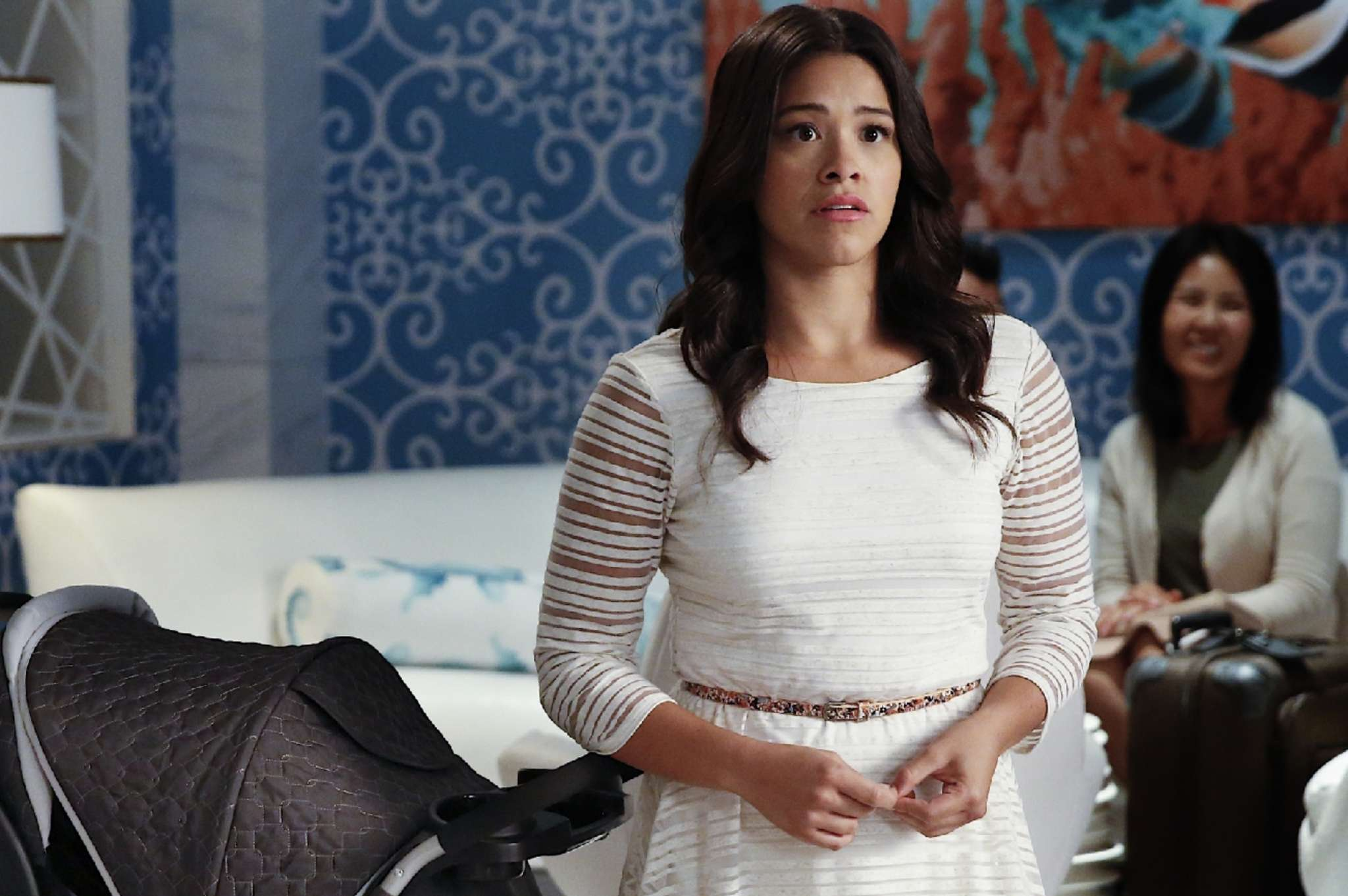 "Gina Rodriguez stars in ""Jane the Virgin."" ""My body is beautiful the way it is."""