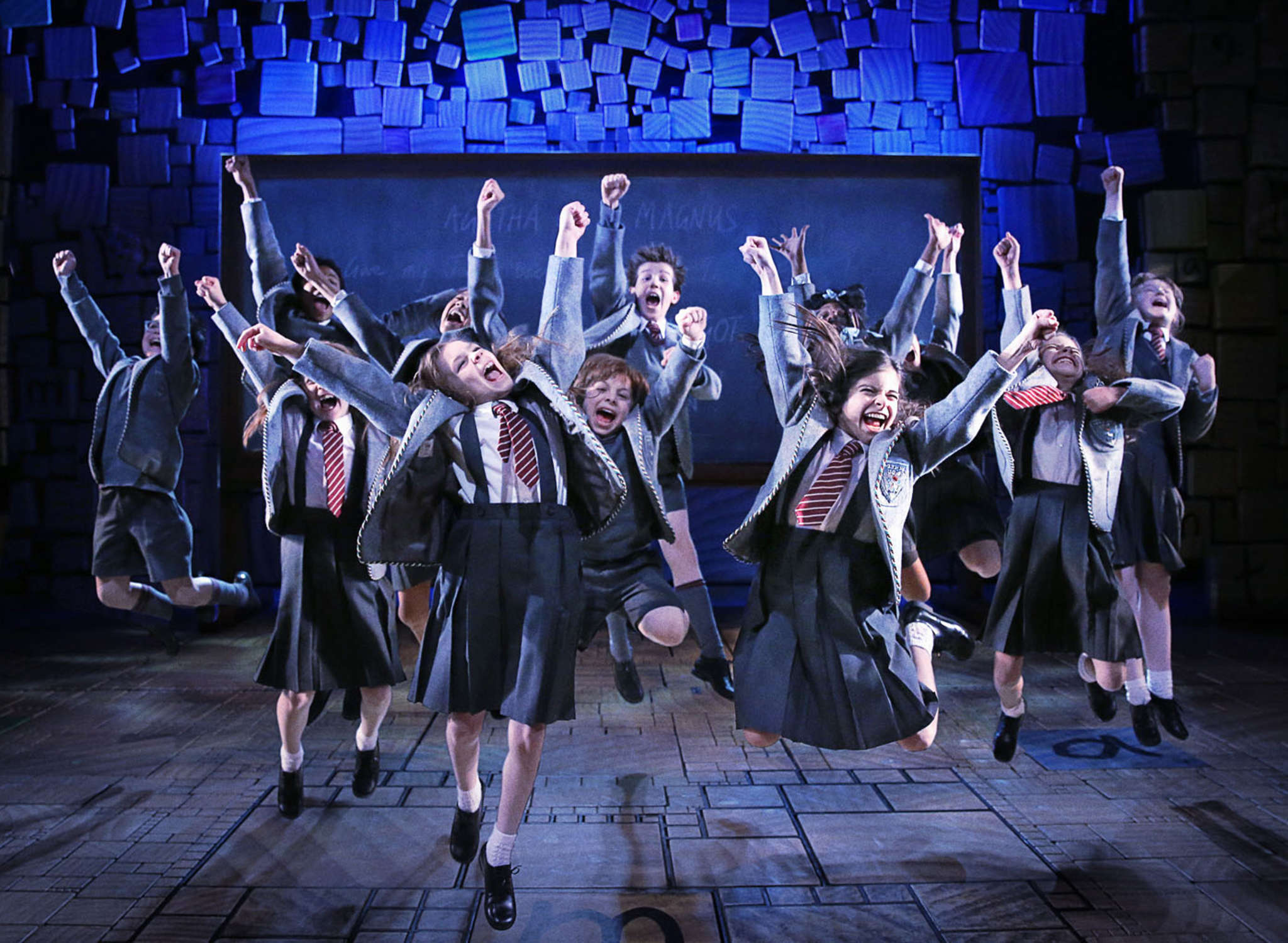 "The kiddie cast of ""Matilda"" keep the show energized, while most of the adult leads do a great job at being reprehensible."