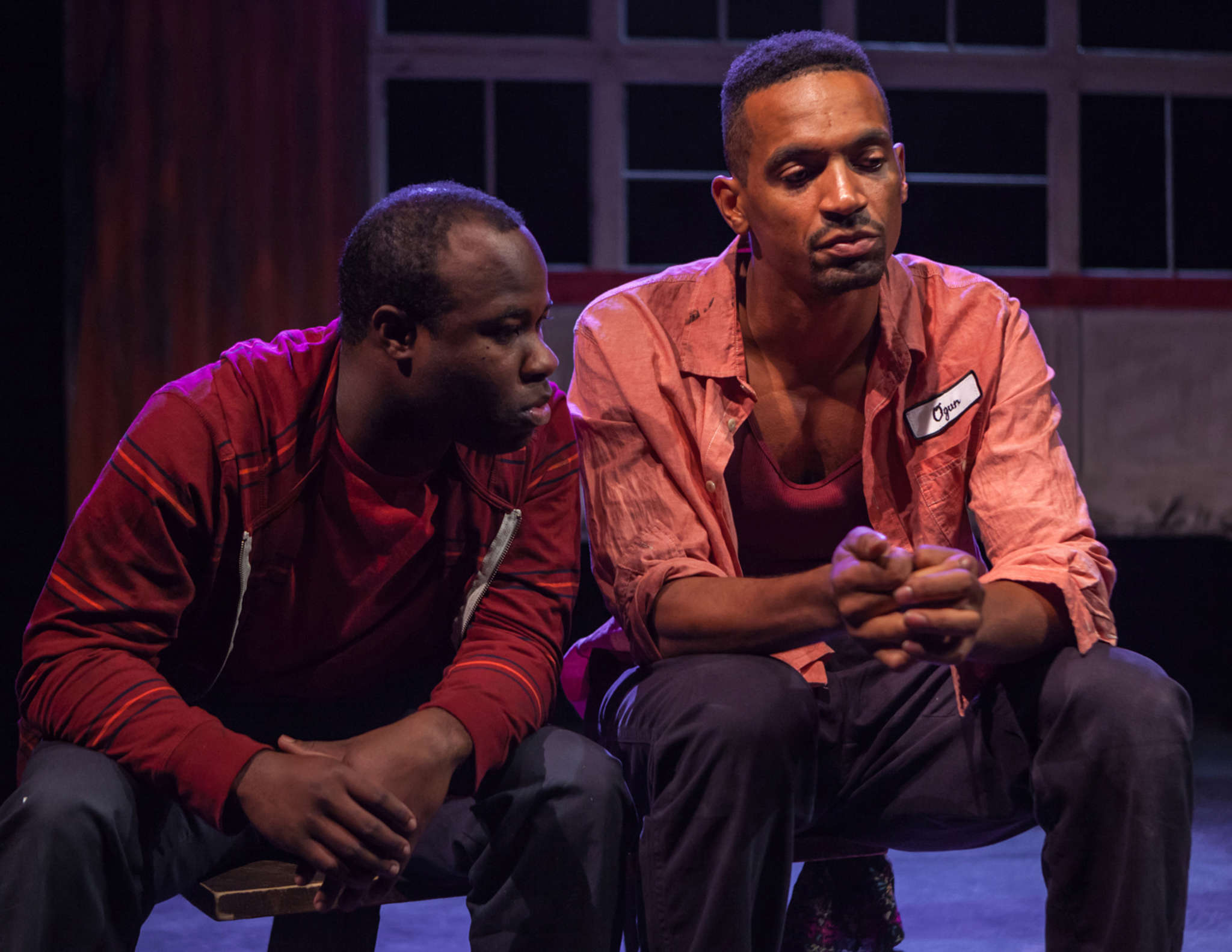 "Akeem Davis (left) with Carlo Campbell in ""The Brothers Size"" at Simpatico Theatre Project in 2013. ""I want to be somebody who is known for great work and an even greater work ethic,"" Davis says."