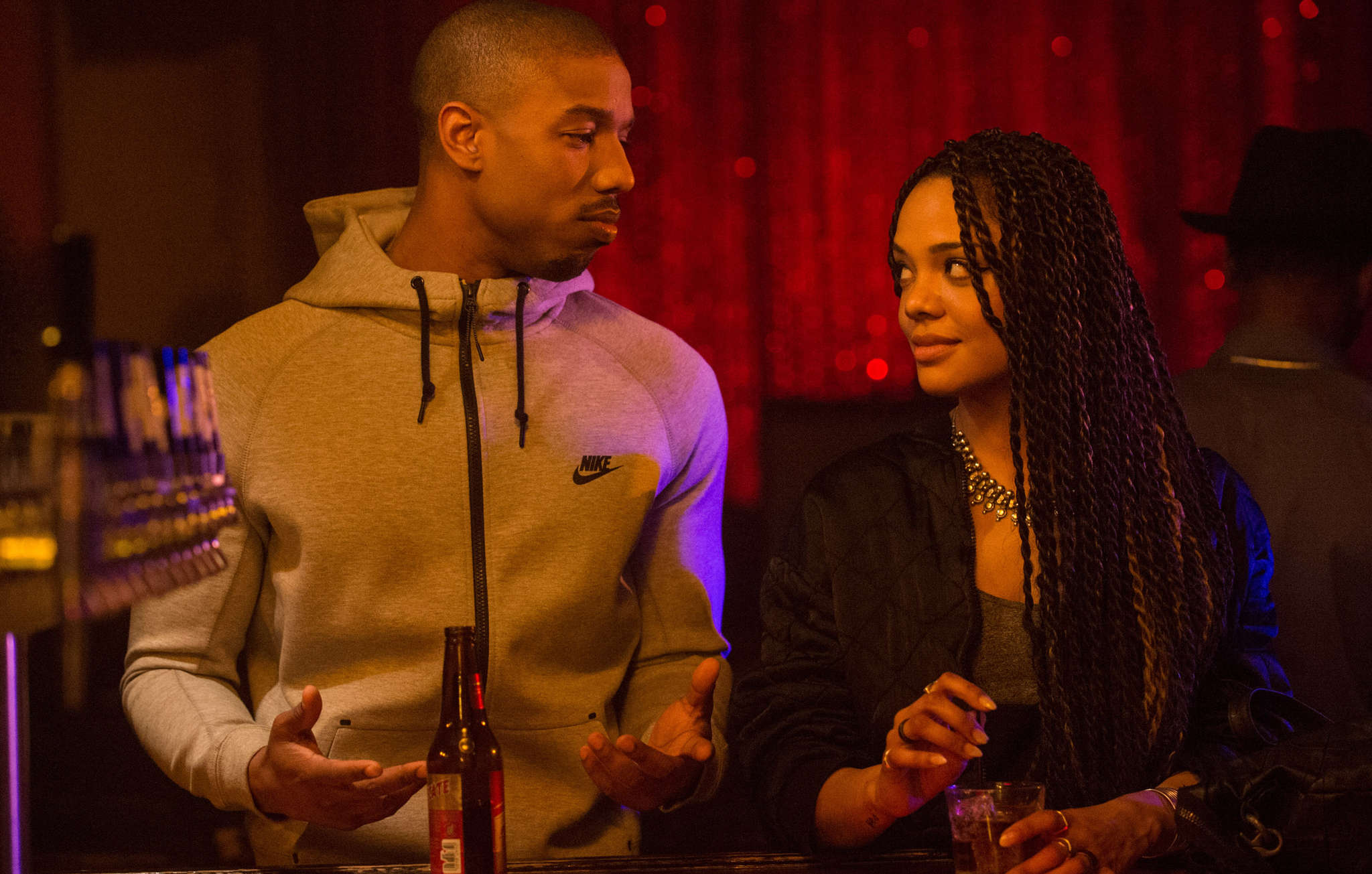 Tessa Thompson´s role provides a strong female counterpoint to Michael B. Jordan´s Adonis Creed.