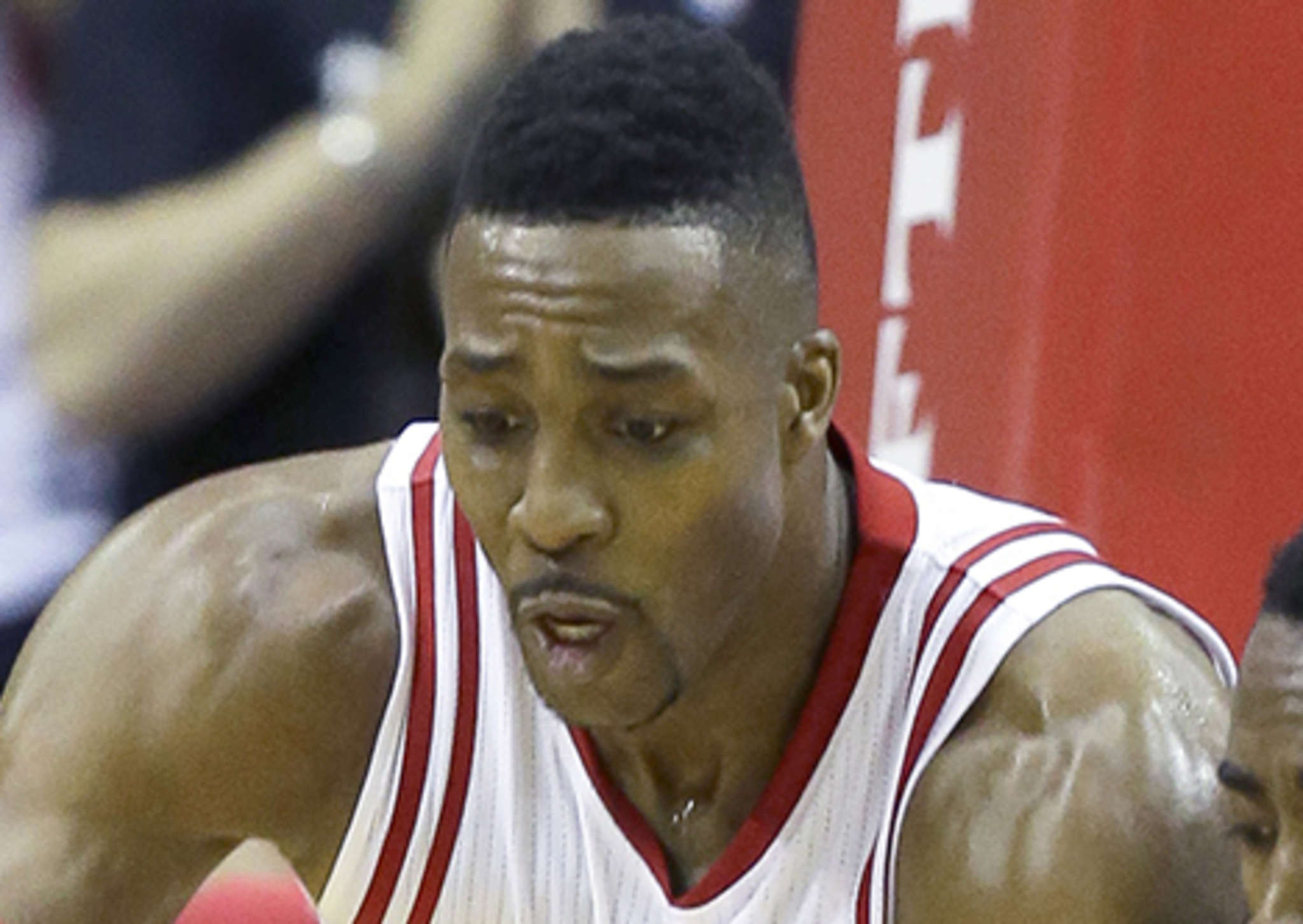 Dwight Howard of the Houston Rockets.