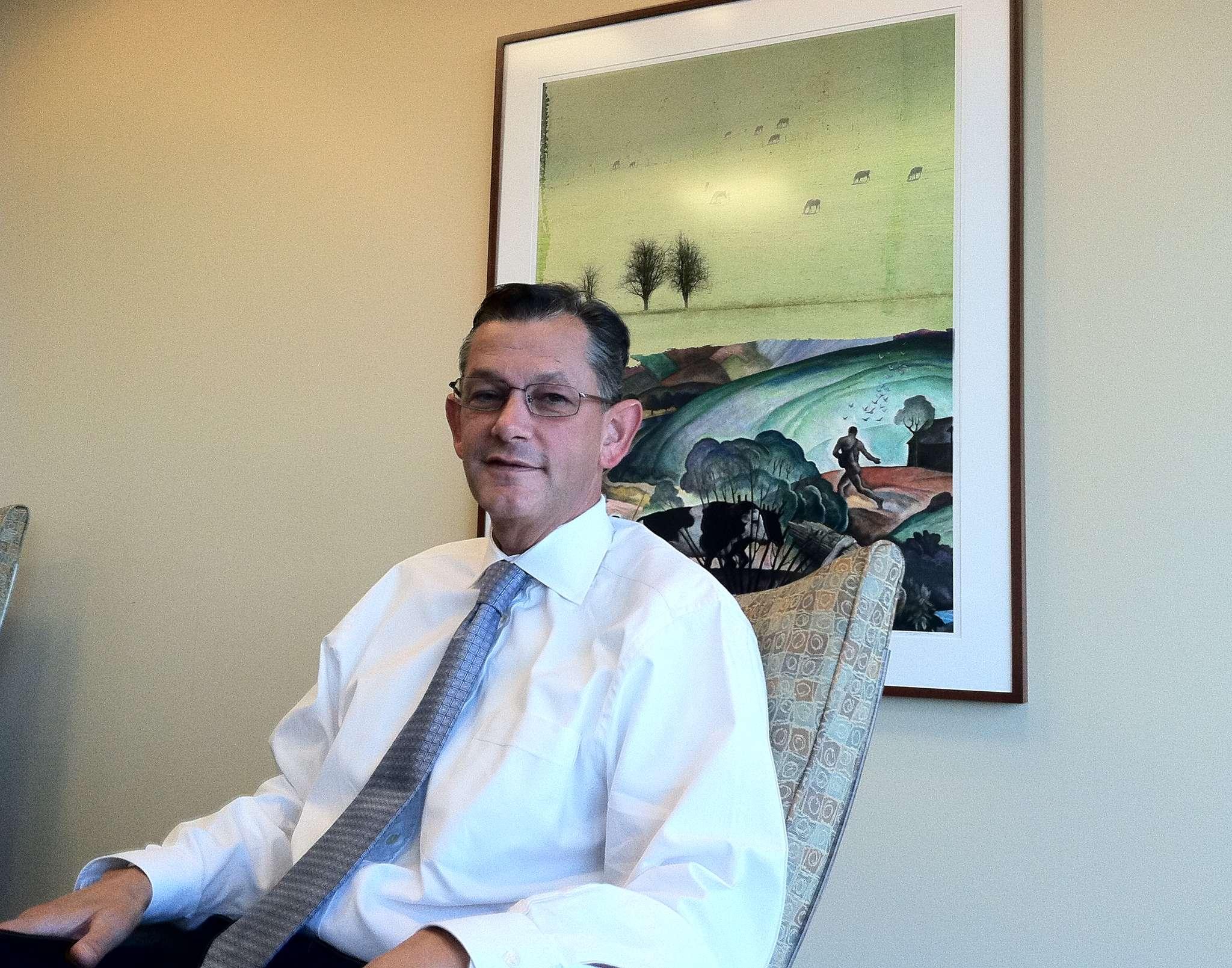 WSFS chief executive Mark Turner, a Philadelphia native, says he will turn Penn Liberty´s Lancaster Avenue headquarters into WSFS´s Pennsylvania hub.