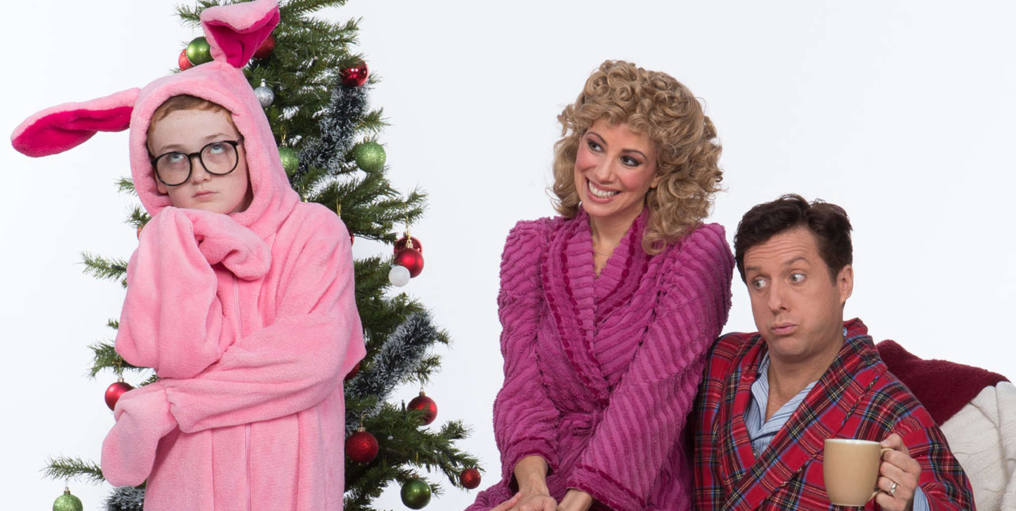 "Cast of the Walnut´s ""A Christmas Story - The Musical."""