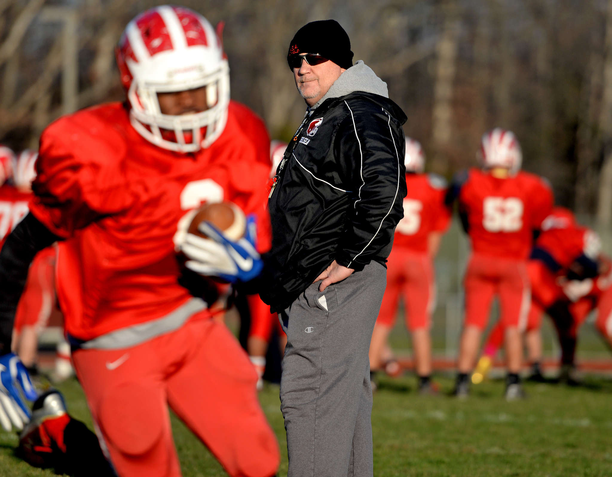 Delsea´s Sal Marchese is only the second head coach in the 56-year history of the school´s football program, which began in 1960.