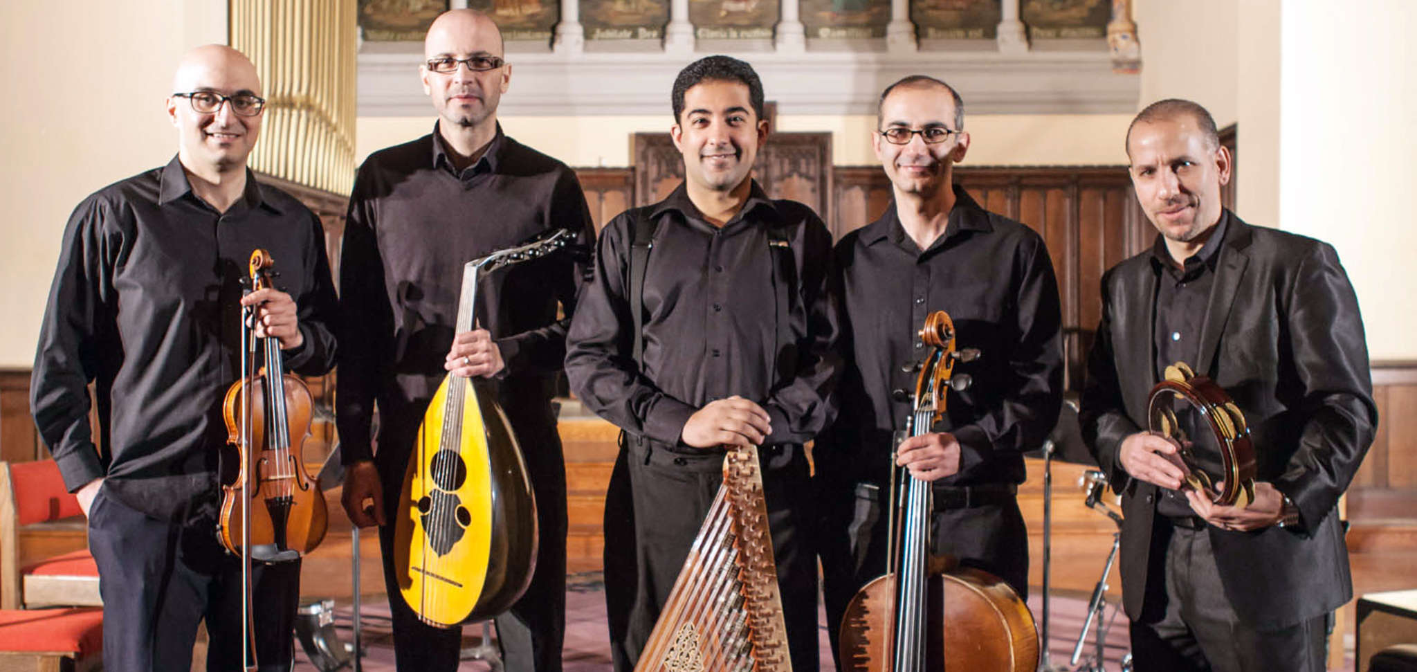 Al-Bustan´s Takht Ensemble, a classical Arab chamber ensemble, performed Saturday at Bryn Mawr College´s Goodhart Hall.