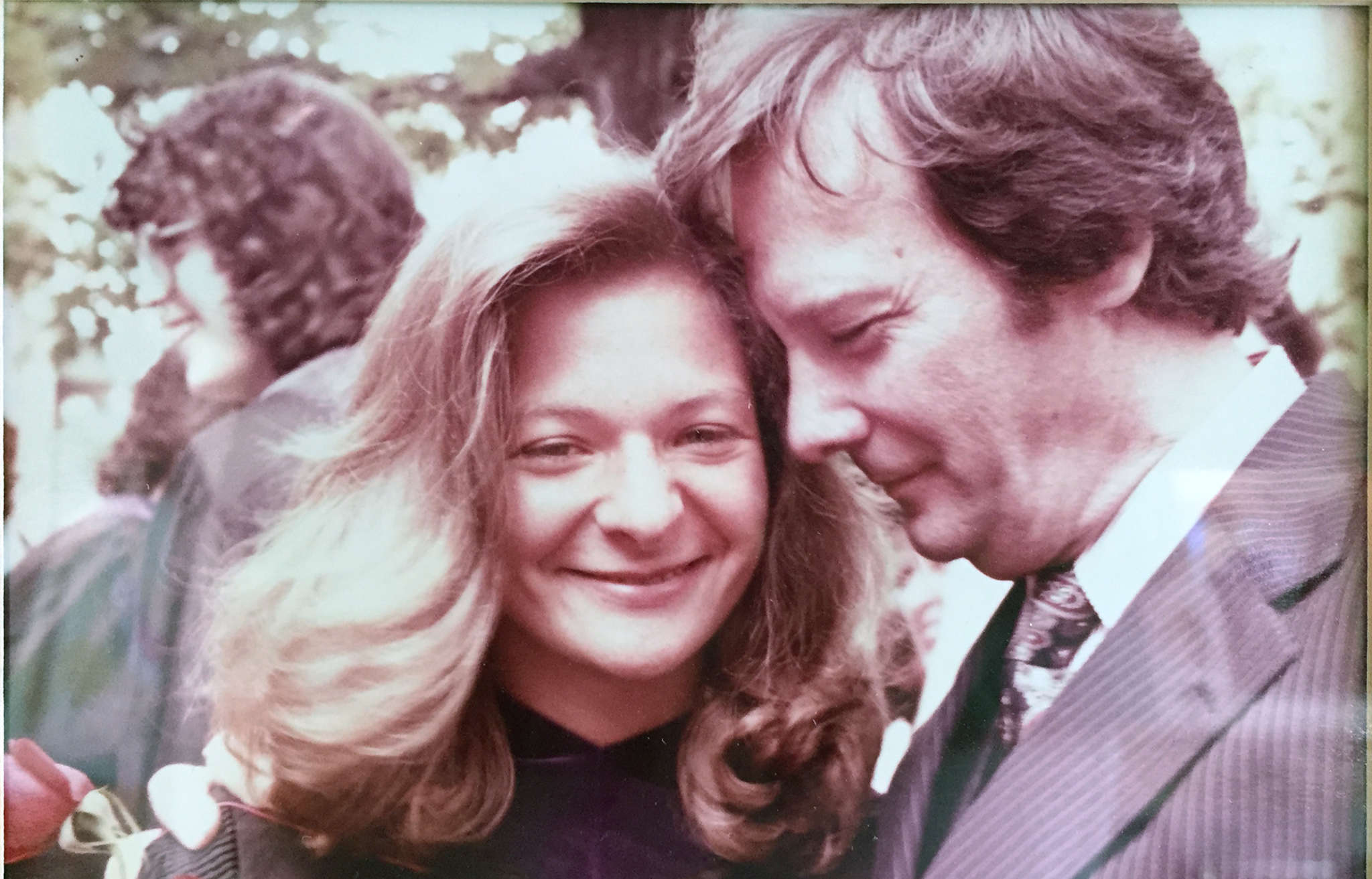 Undated photo of Lisa Scottoline with her father.