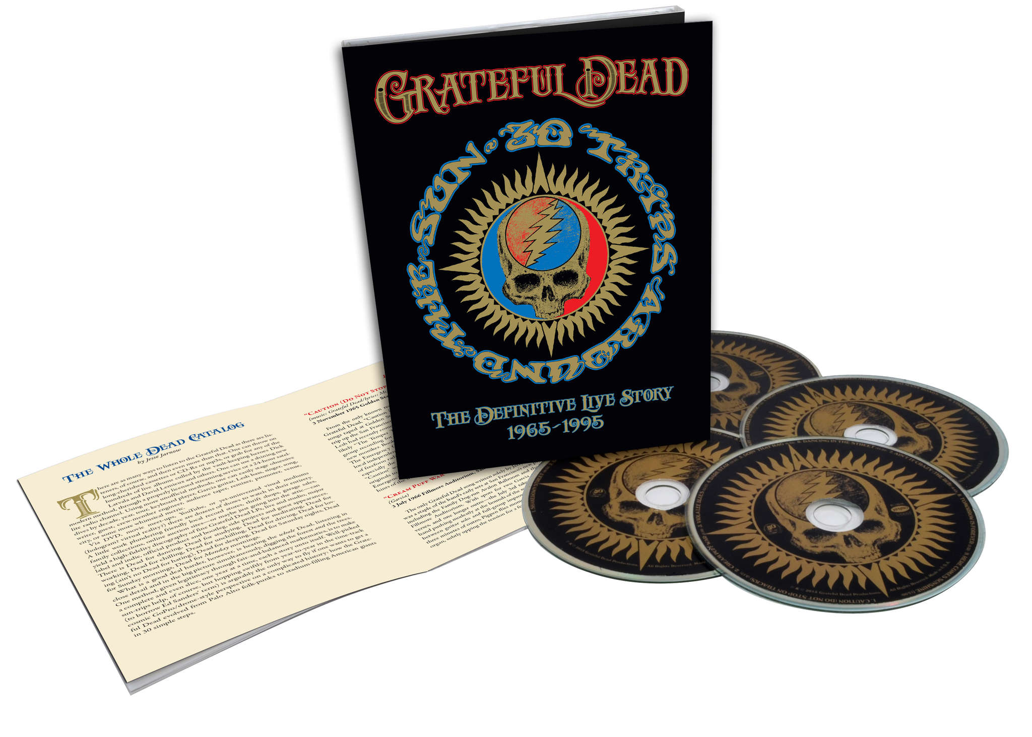 """""""Fare Thee Well: Celebrating 50 Years of Grateful Dead"""" has stunning visual/audio work in Blu-ray form."""