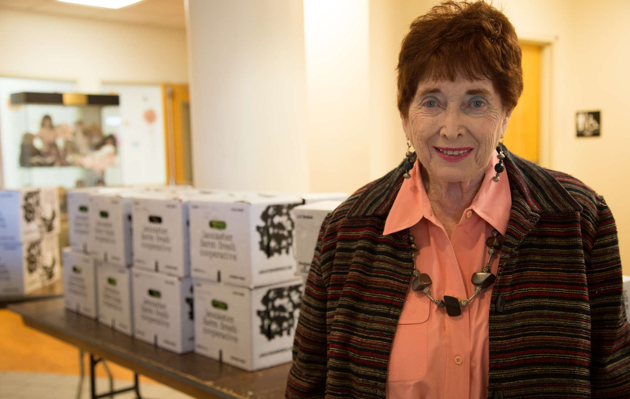 Sharline Heller was retired when she was asked to run Farm to Families.