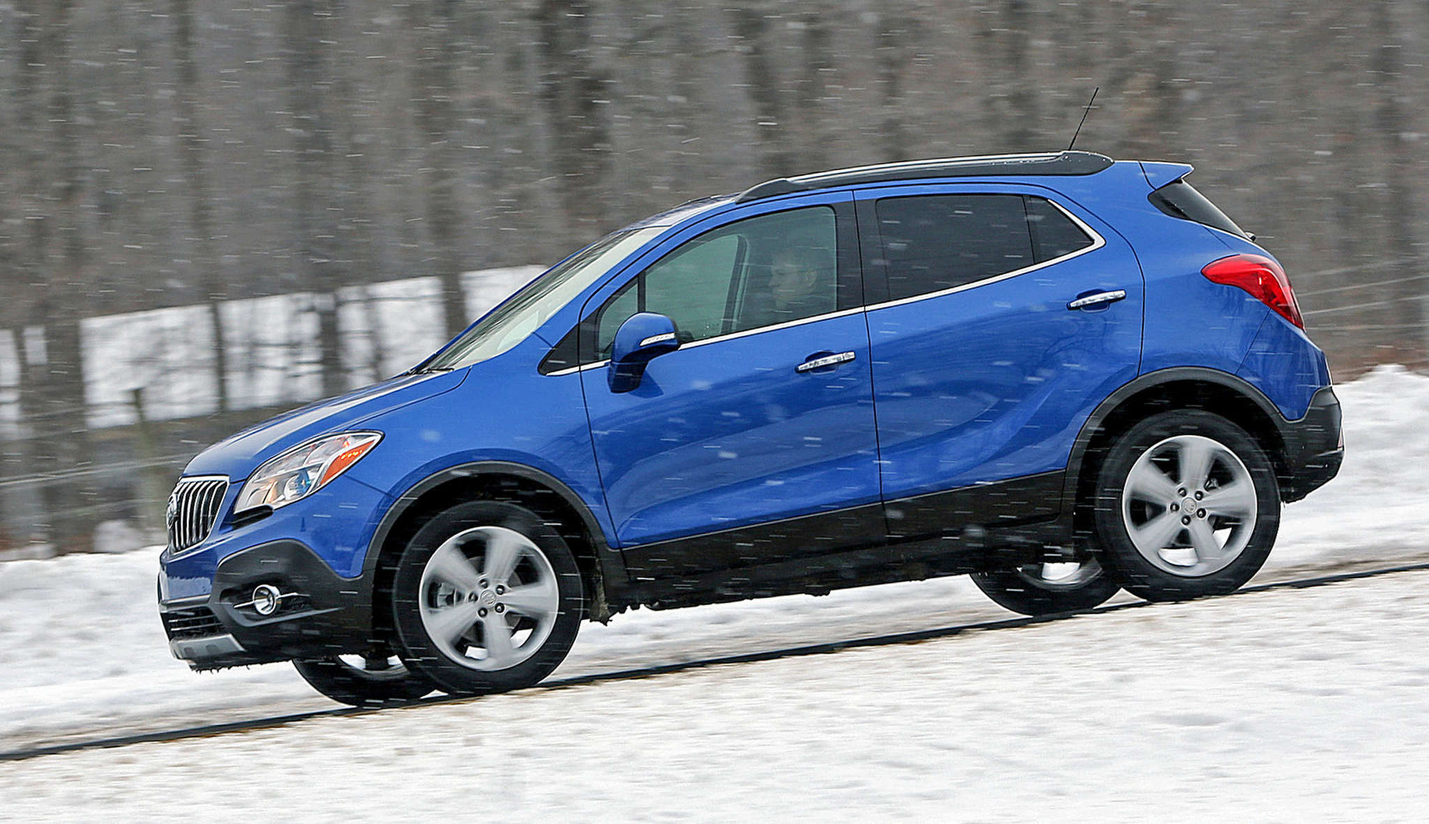 The Buick Encore is cute as a button, but isshort on the cargo space.