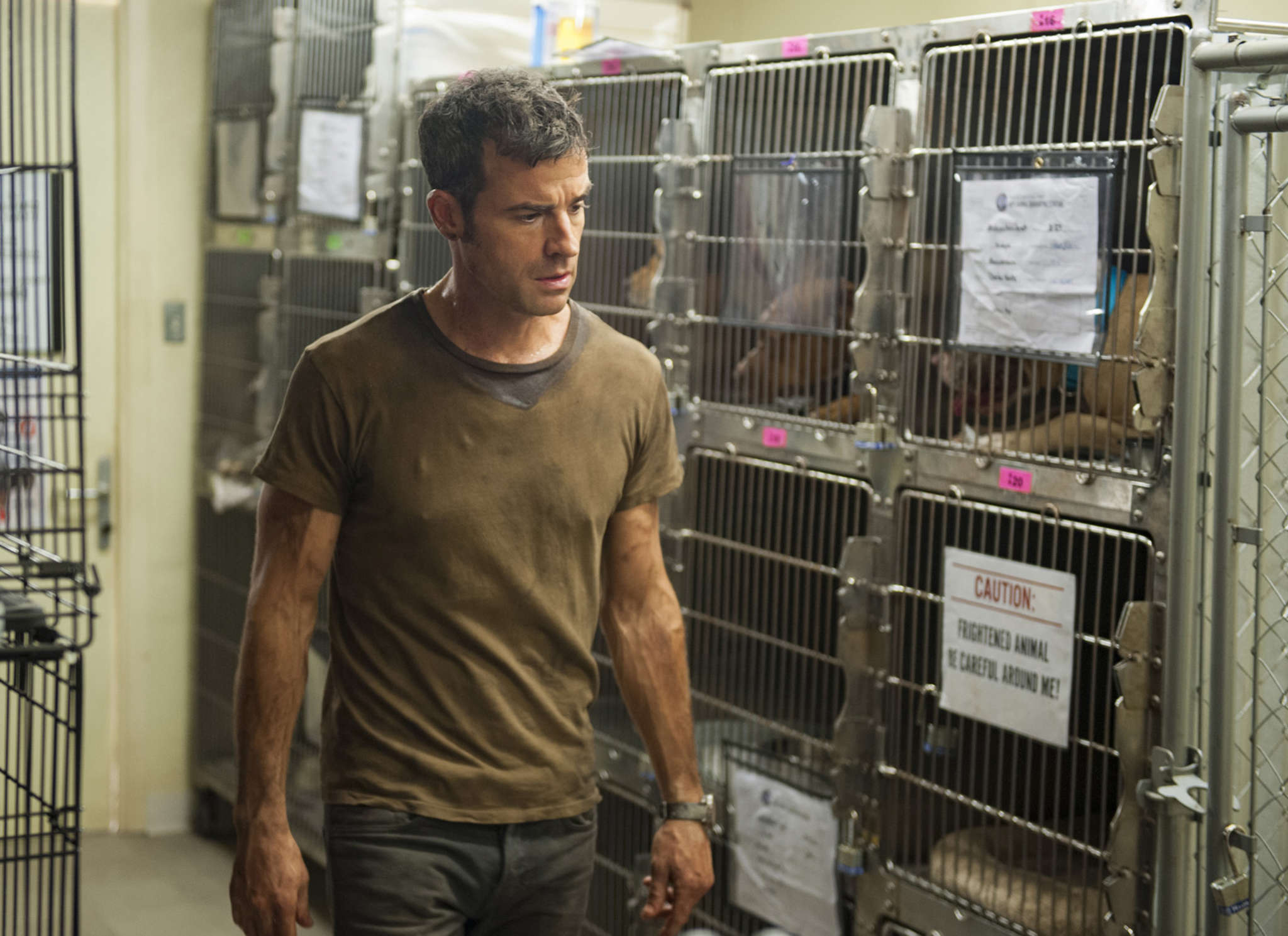 """Justin Theroux in a scene from HBO´s """"The Leftovers."""""""