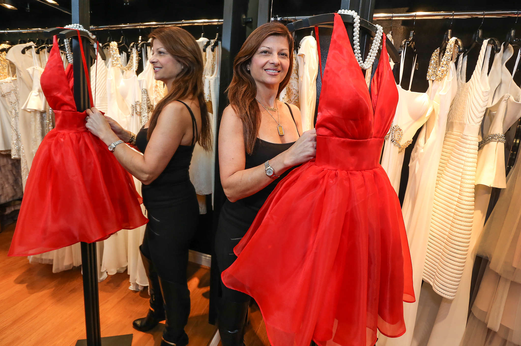 """There´s a lot of joy, but you also see girls here stomping their feet because they didn´t get the dress they wanted,"" says Carolyn Zinni, owner of Zinni´s of Philadelphia in Delaware County."