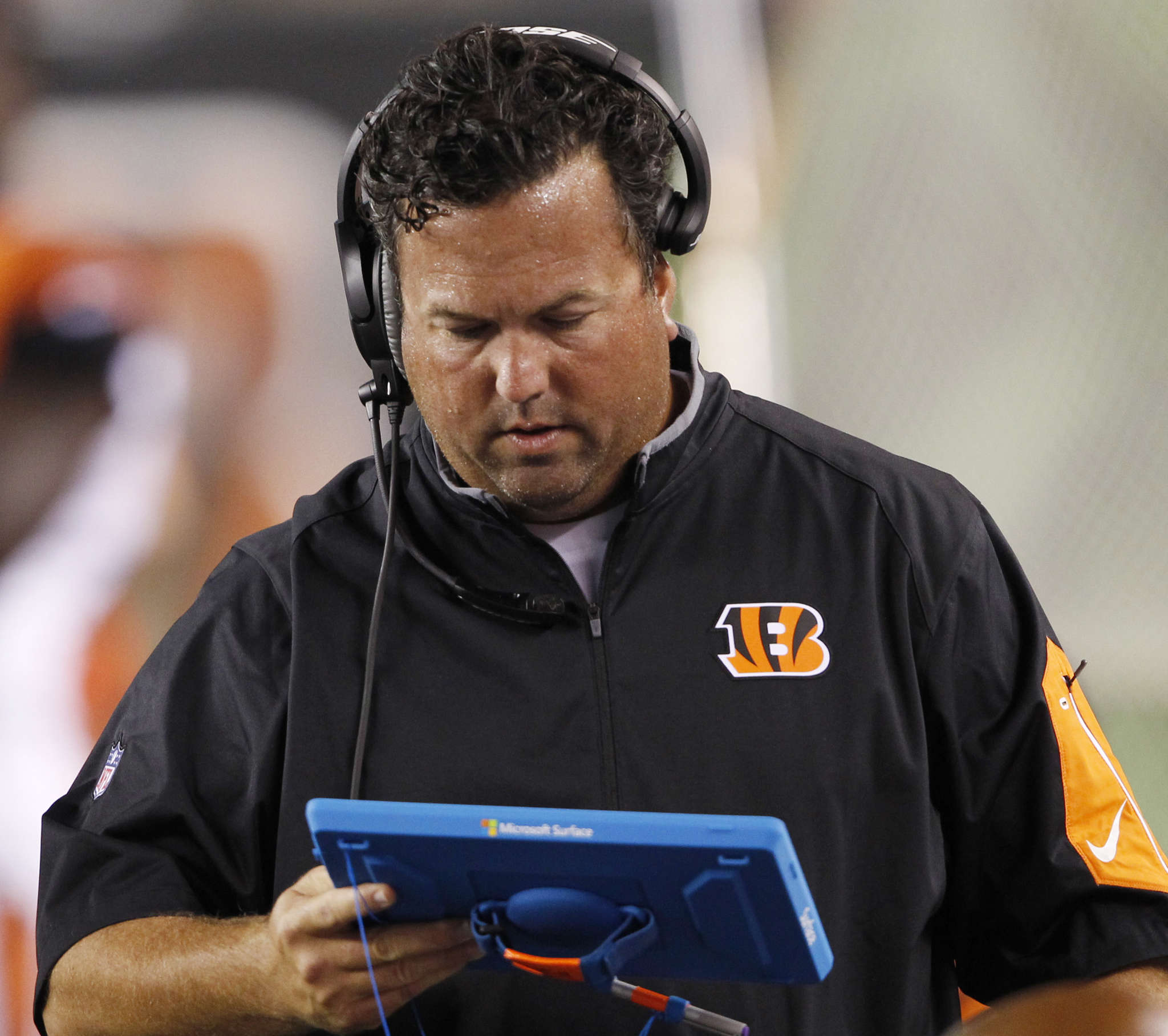 Paul Guenther´s Bengals defense imploded in the late stages of playoff loss to Steelers. ASSOCIATEDPRESS