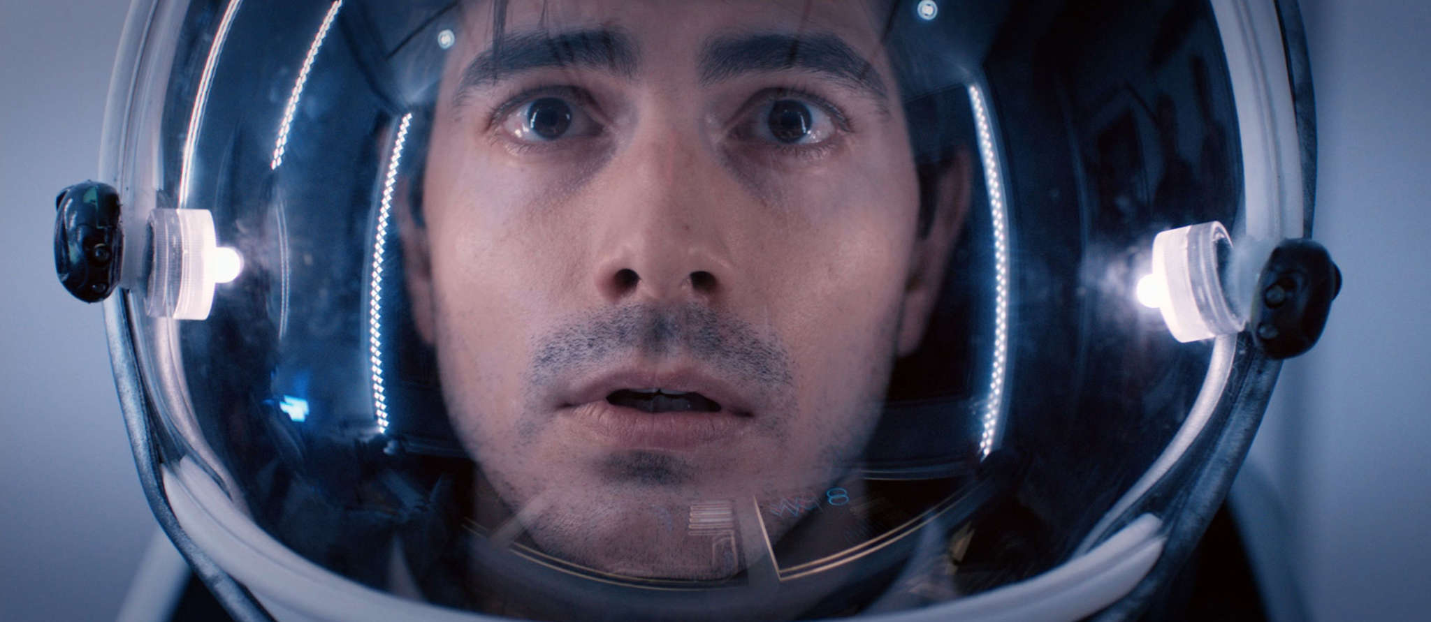 "Brandon Routh is one of four astronauts locked in an isolated underground spaceship simulator in ""400 Days."""