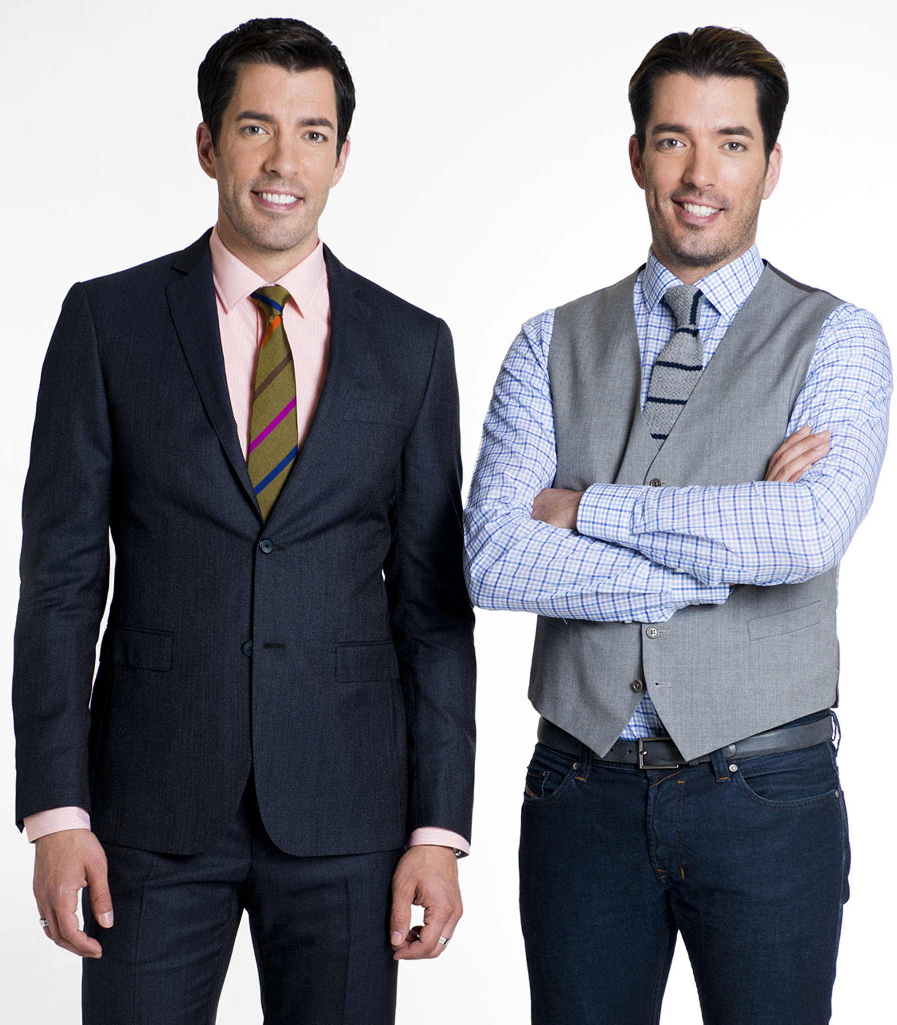 The Property Brothers Bring Brotherly Banter To The