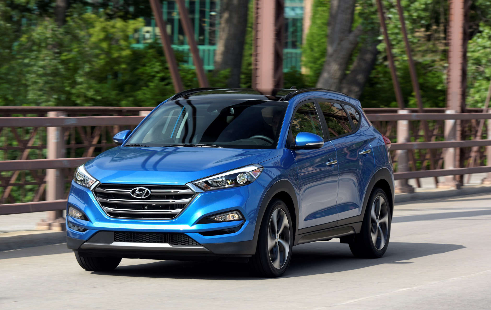 The Hyundai Tucson has undergone a redesign for the 2016 model year.