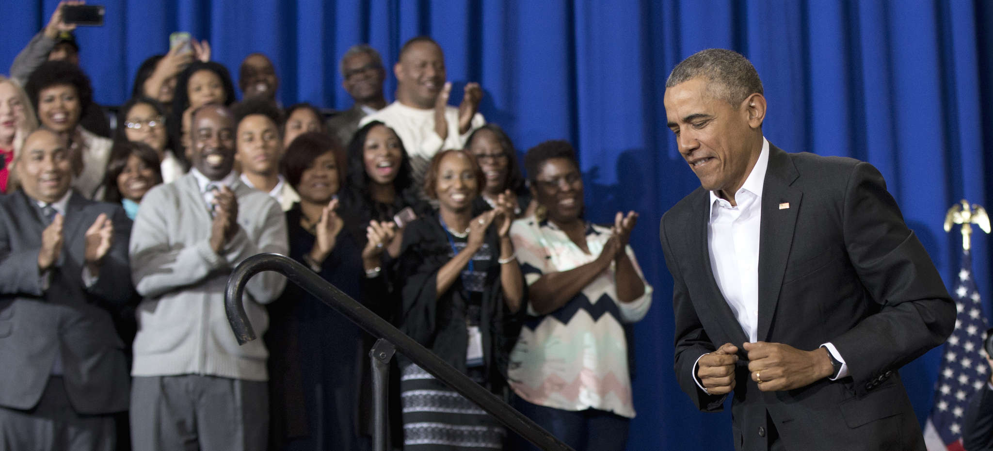 Following up on his State of the Union address, President Obama in Baton Rouge, La.