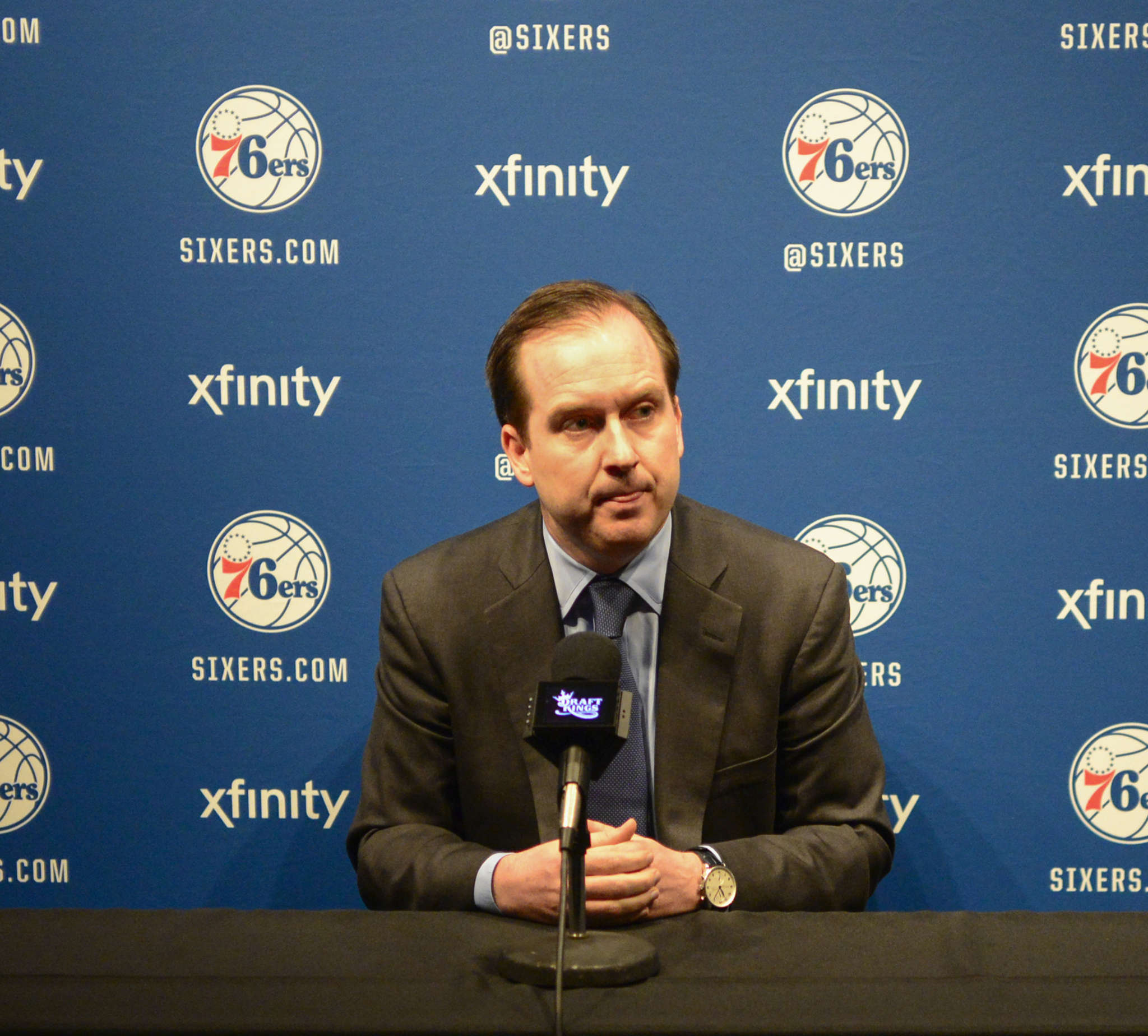 GM Sam Hinkie has stockpiled draft choices, but other moves have raised eyebrows around the league.