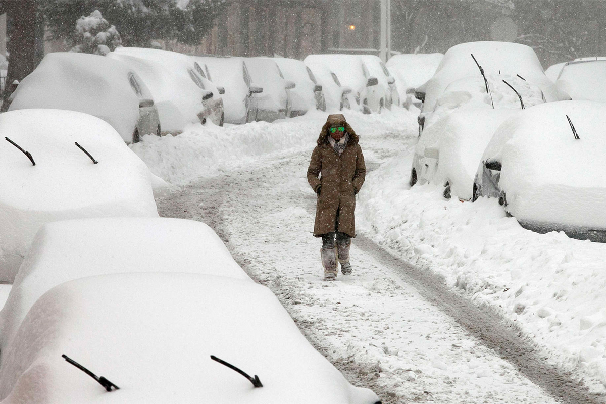 Snow Inches By City New Jersey Today