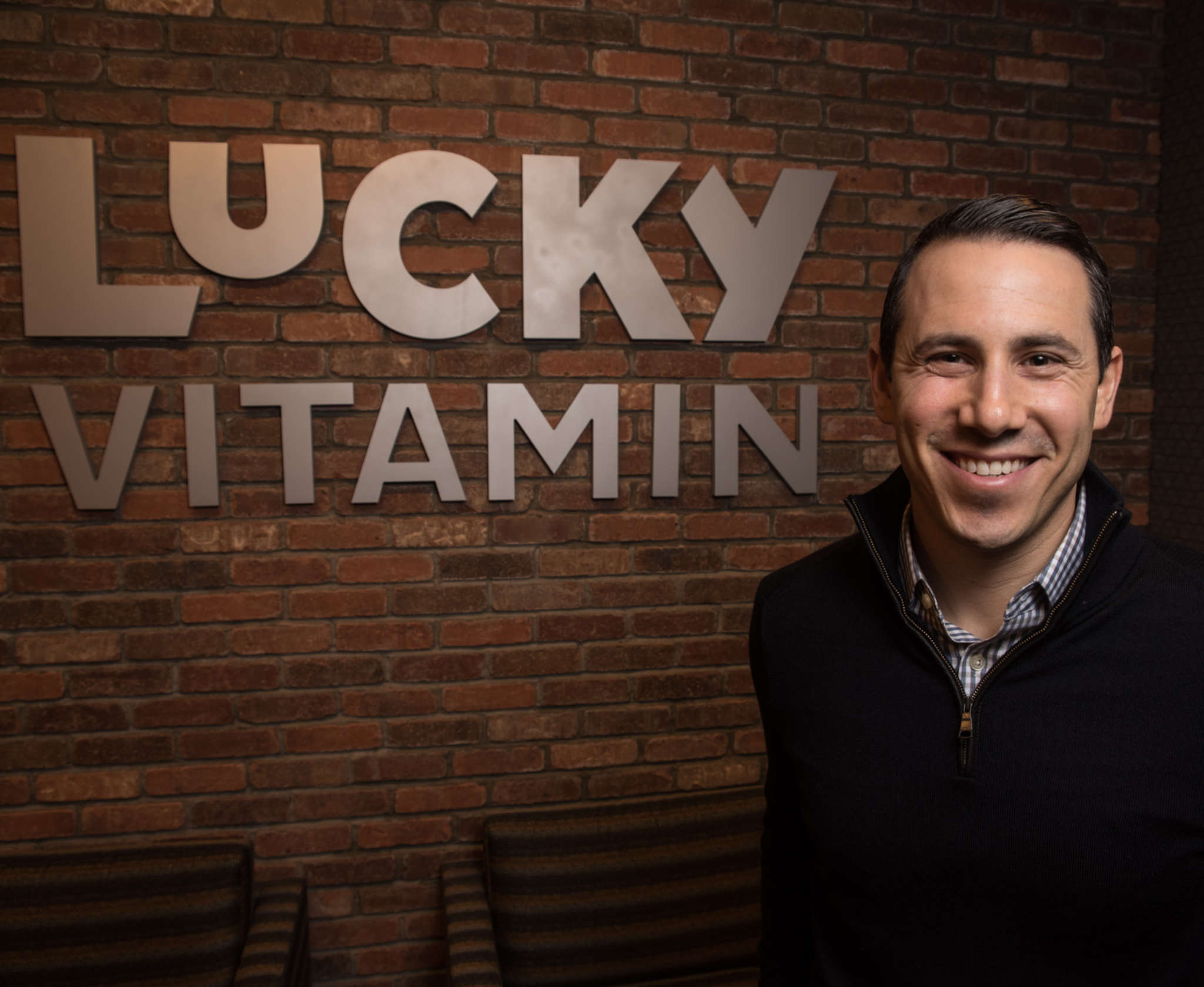 Sam Wolf runs Lucky Vitamin, a Conshohocken-based company offering healthy foods and supplements.