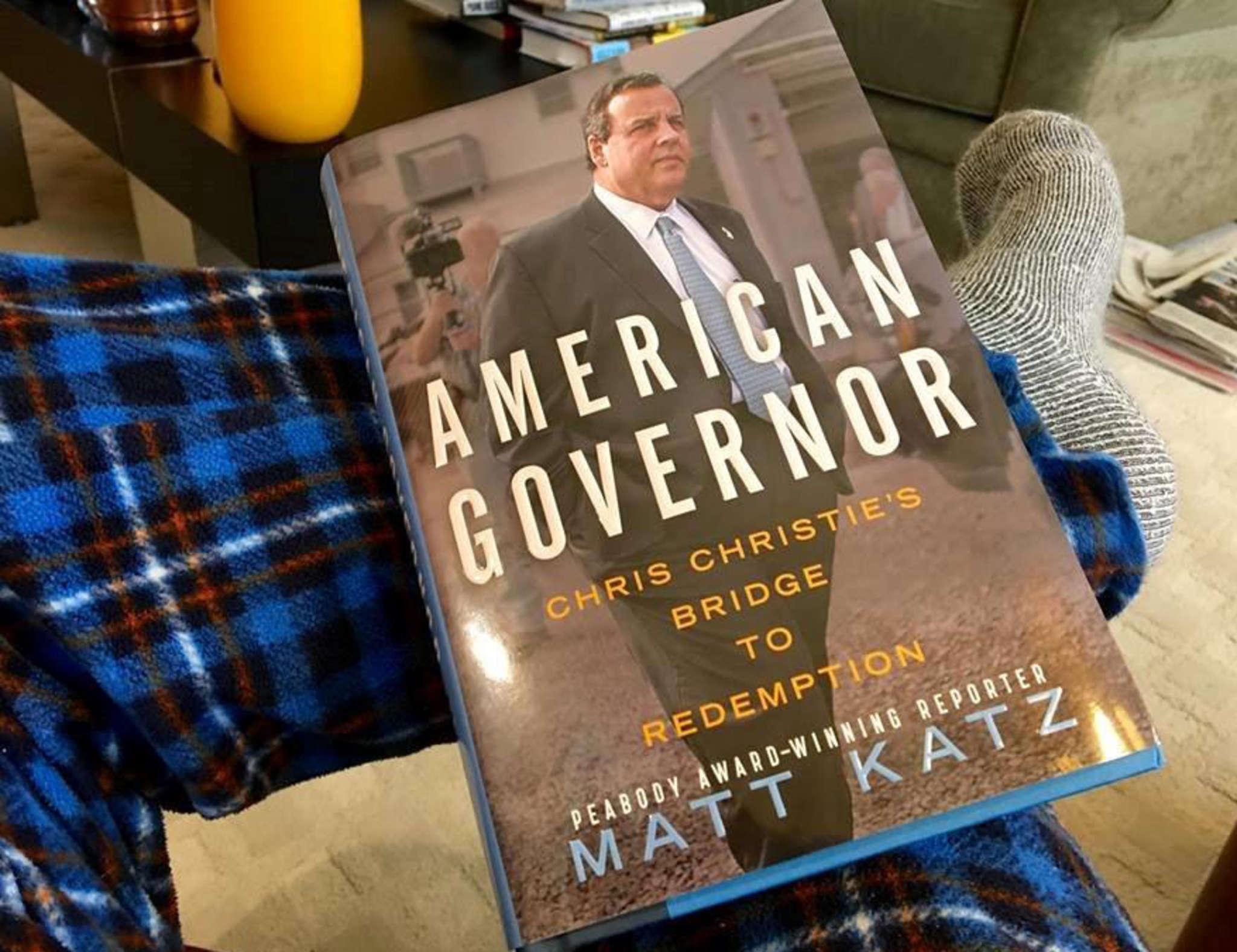 """American Governor - Chris Christie´s Bridge to Redemption,"" by Matt Katz, formerly an Inquirer reporter."