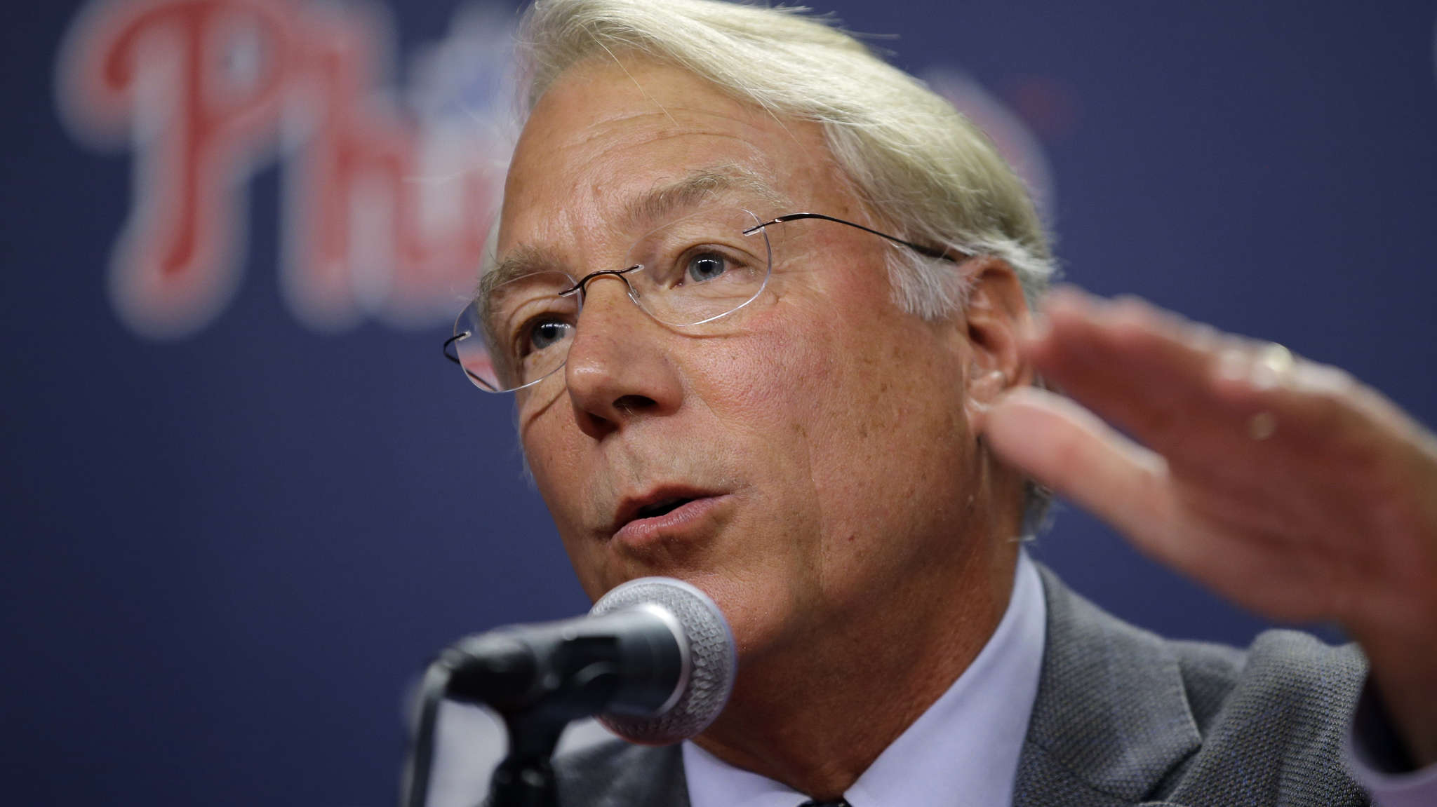 Phillies president Andy MacPhail keeps saying the rebuilding of the team will take a while.