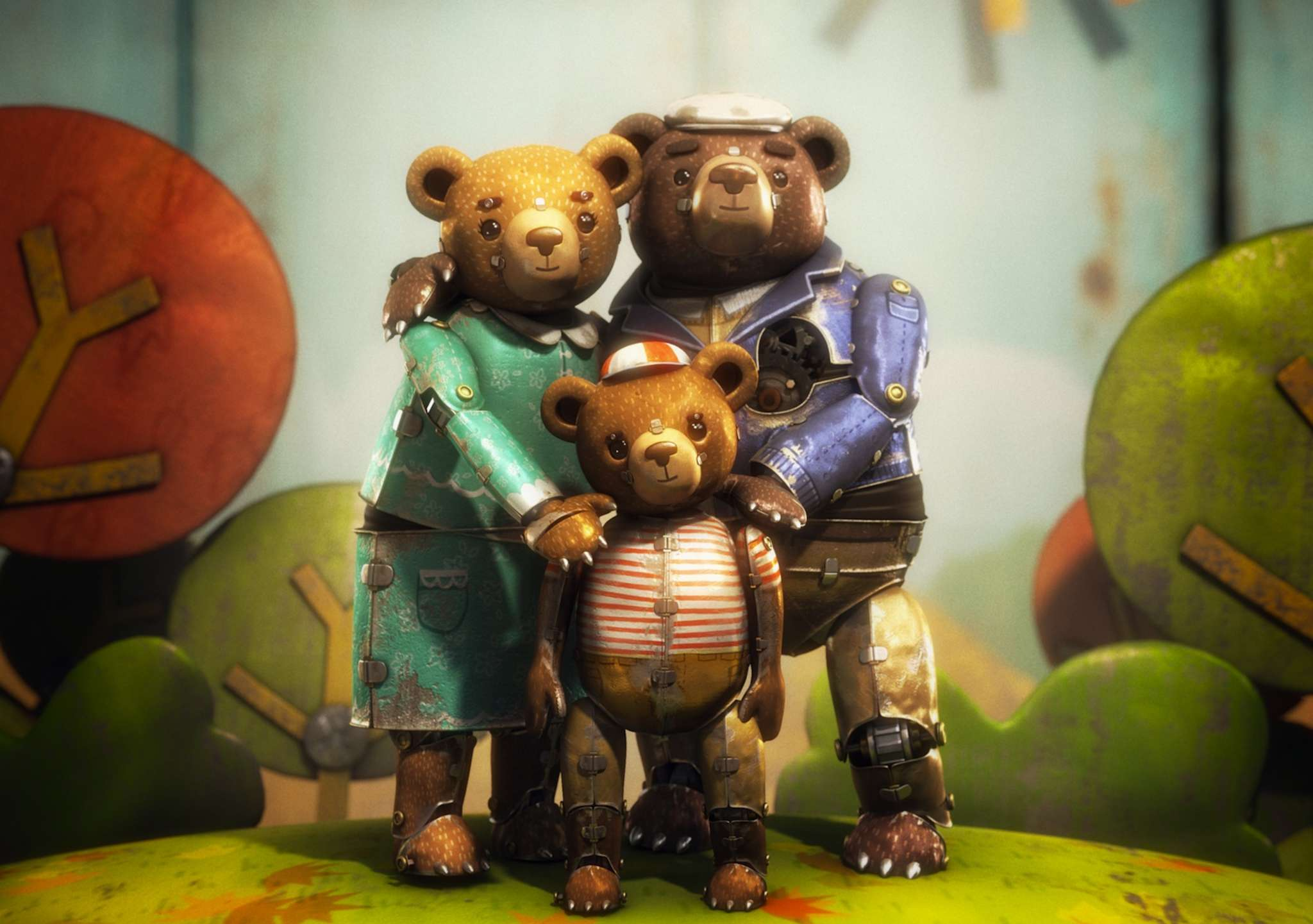 """Bear Story"" is an Oscar-nominated short film by the Chilean animation studio Punkrobot."