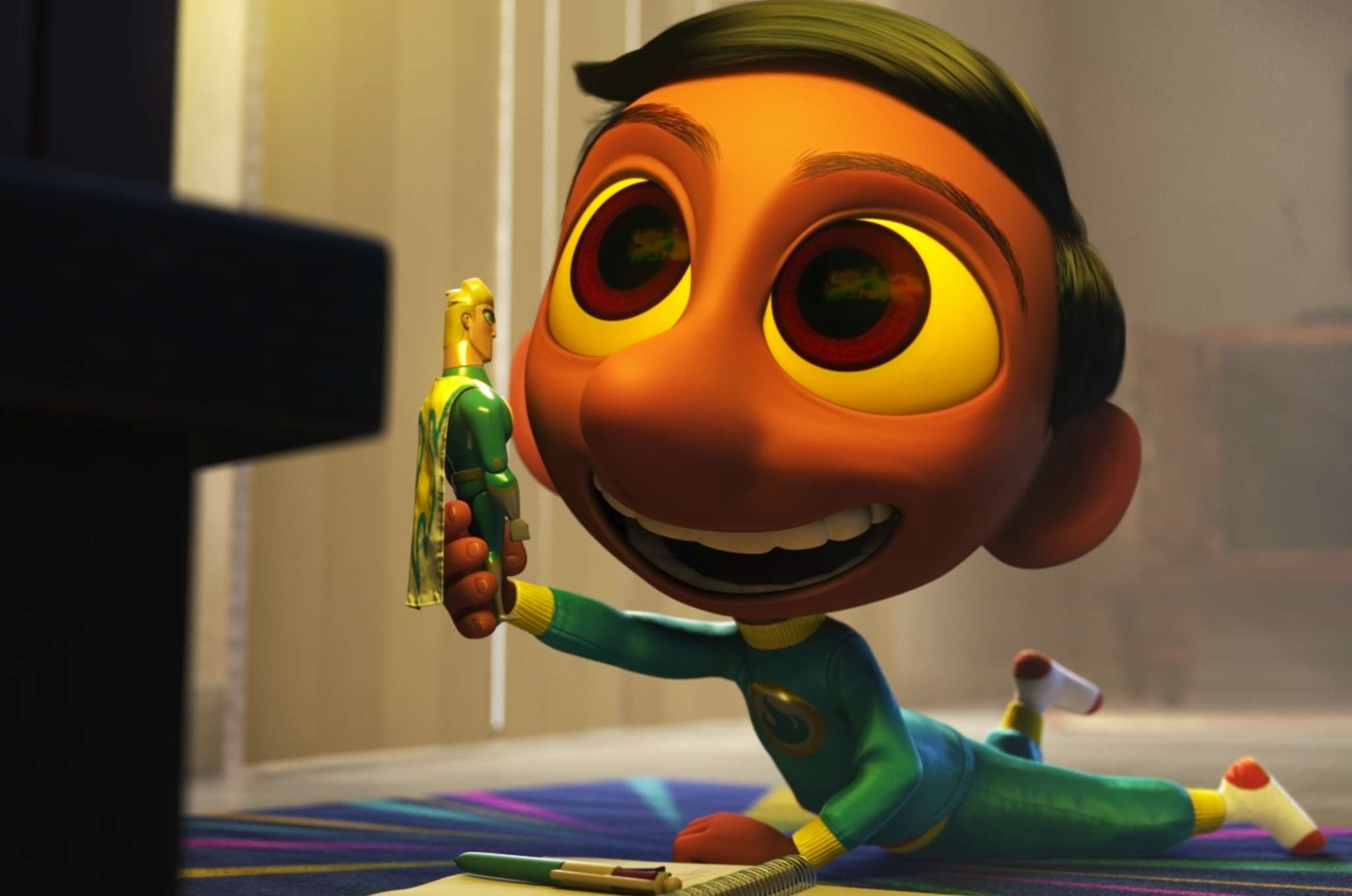 """Sanjay´s Super Team"" is among the Oscar-nominated animated short films screening together in theaters."