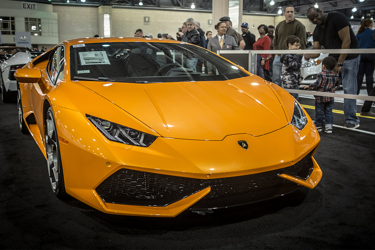 Philly Auto Show Opens With Big Bling - Philly car show