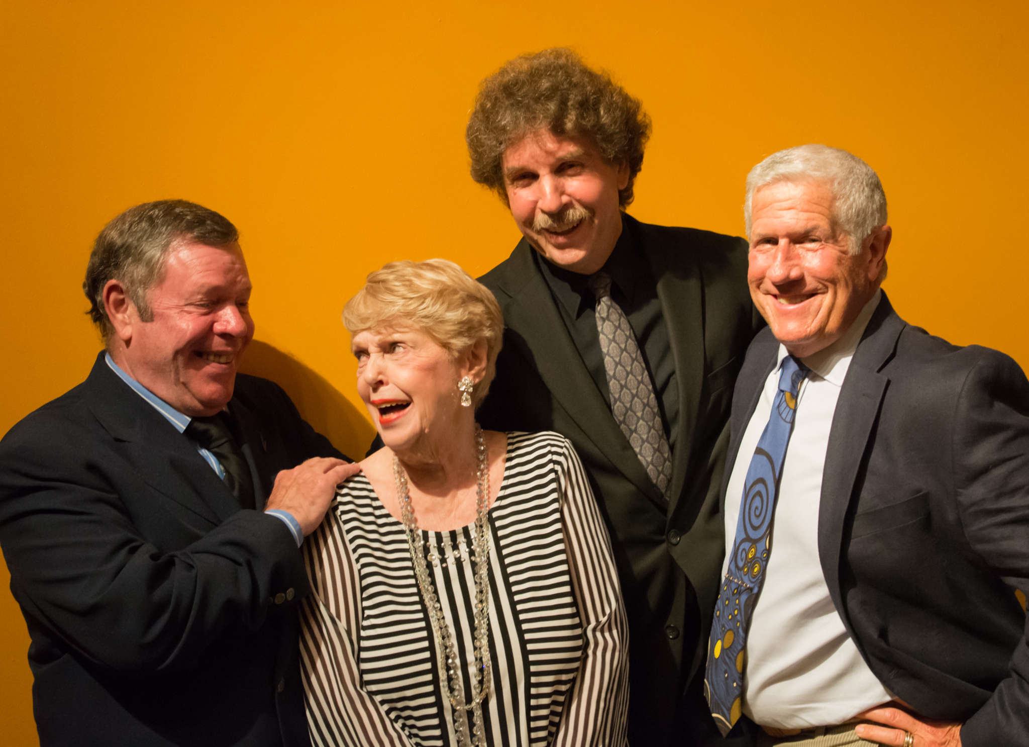 Peggy King and the All-Star Jazz Trio: from left, Bruce Klauber, Peggy King, Bruce Kaminsky, and Andy Kahn. They have released a new album together.