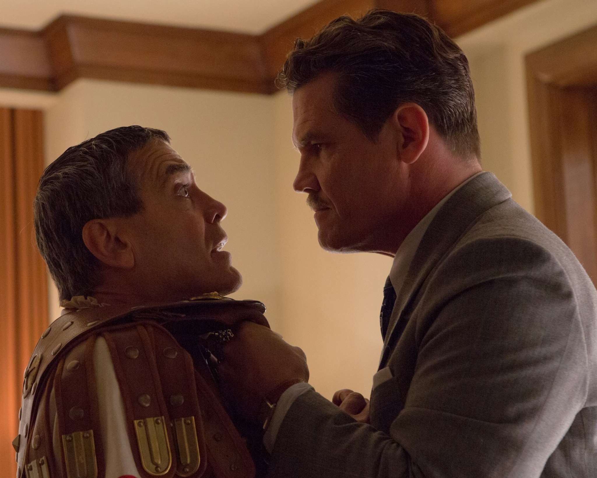 "Hooray for Hollywood: George Clooney (left) and Josh Brolin in Joel and Ethan Coen´s early-´50s film-within a-film ""Hail, Caesar!"""