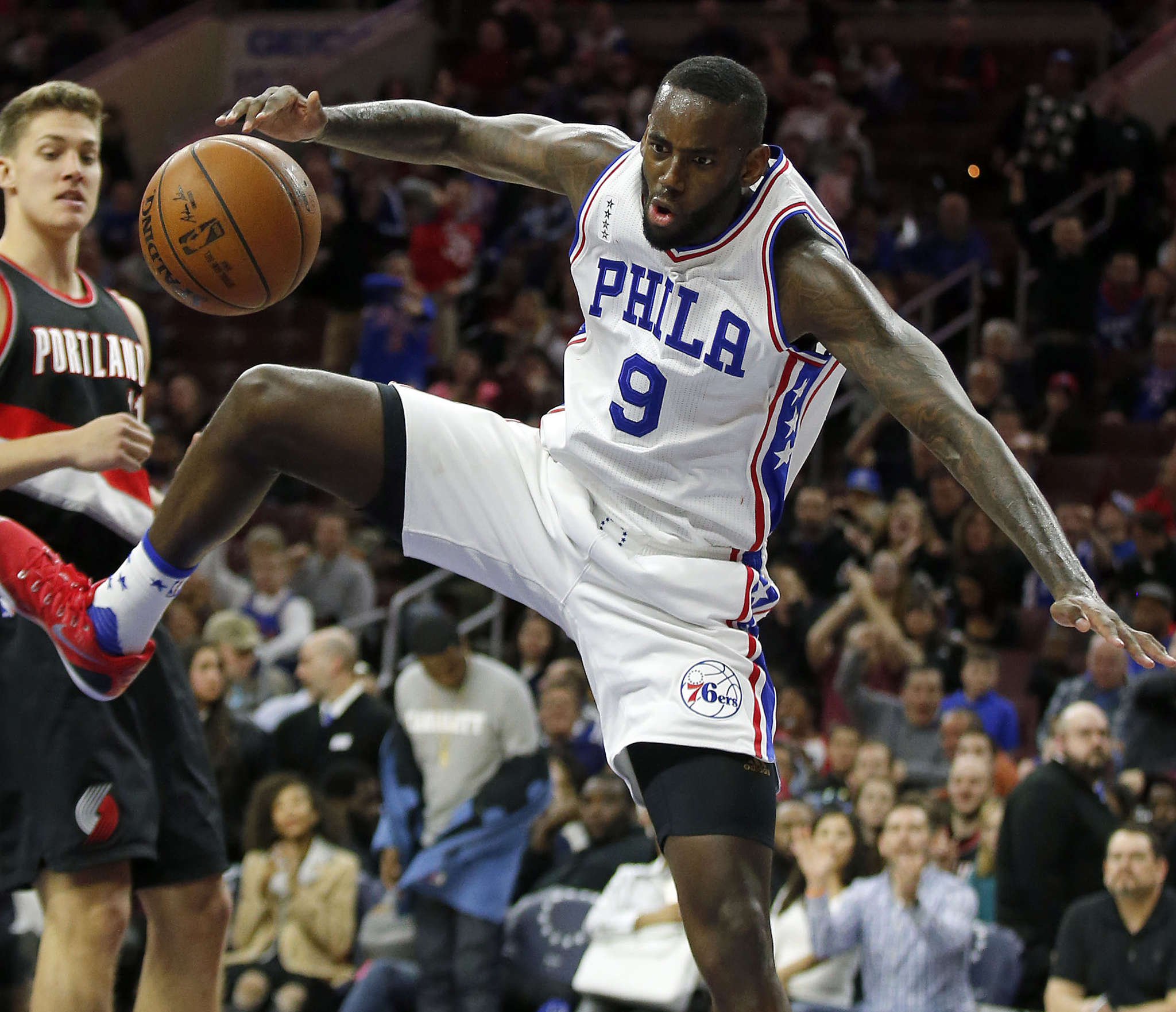 JaKarr Sampson, a hard worker with a strong locker room presence, was waived by the Sixers on Thursday.