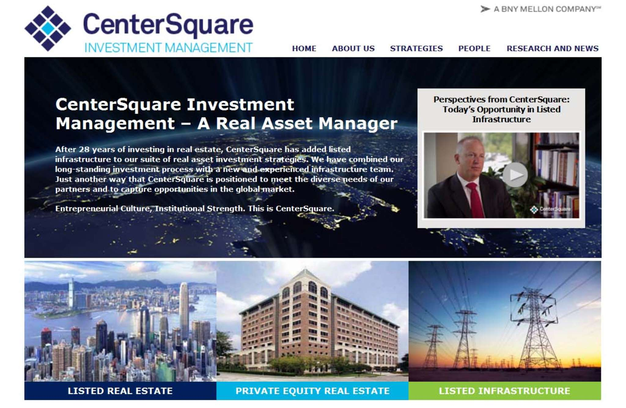CenterSquare Investment Management, based in Plymouth Meeting.