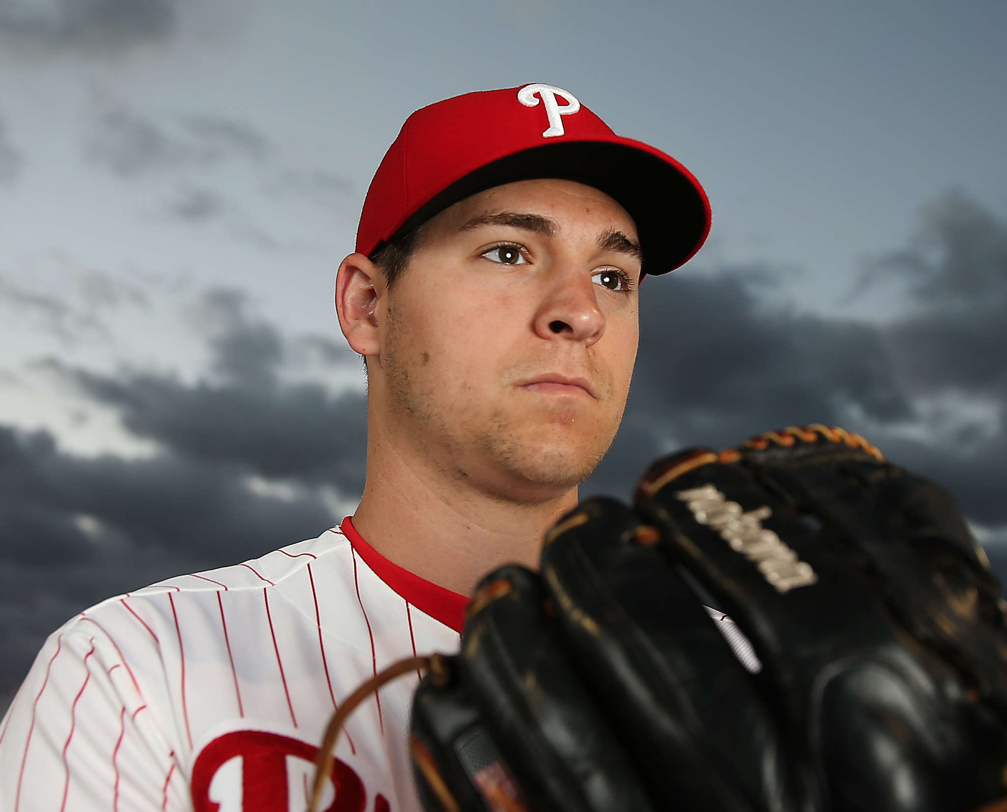 Jerad Eickhoff is among this season´s promising young pitchers. DAVID MAIALETTI / Staff Photographer