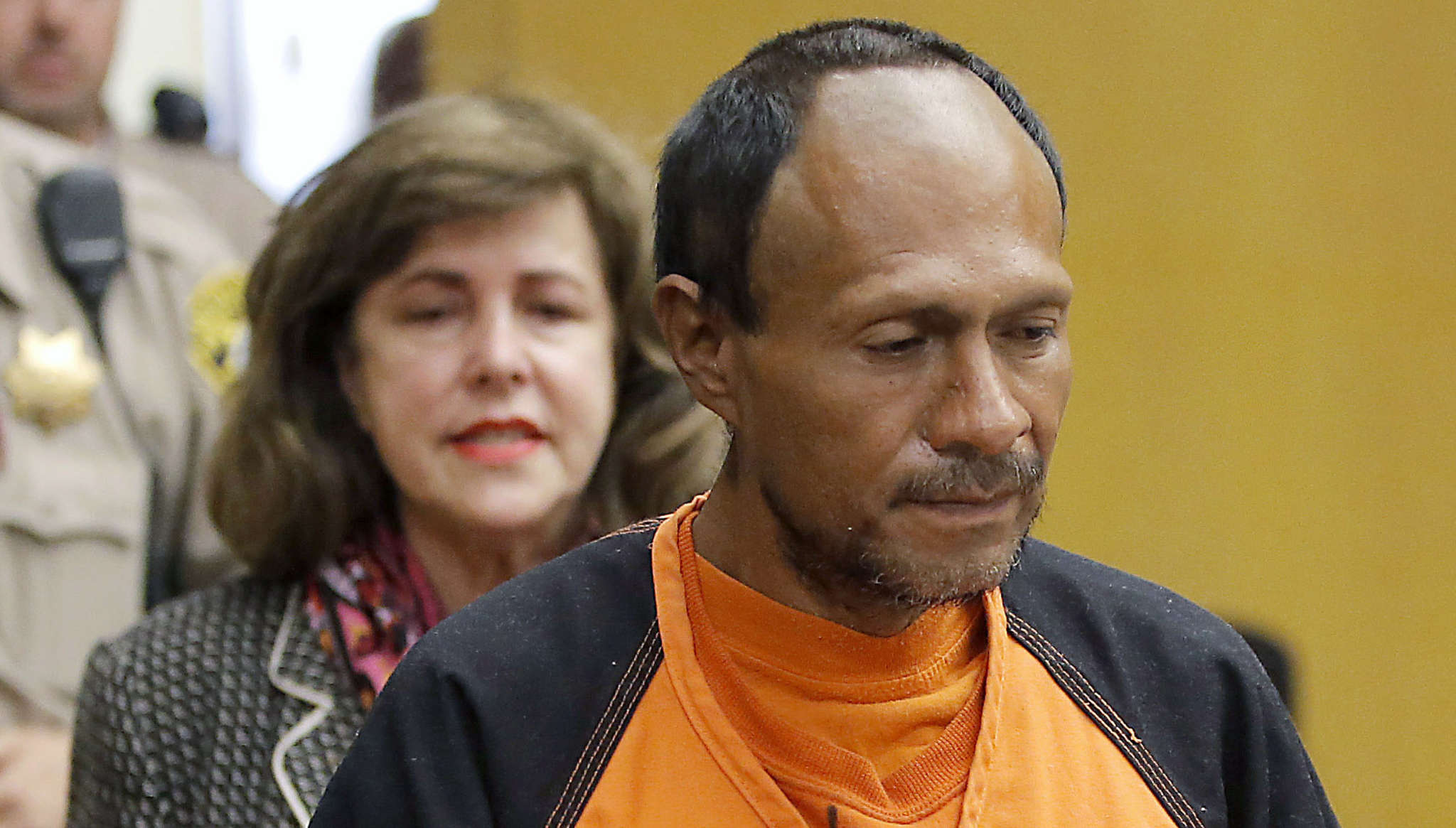Remember Juan Francisco Lopez-Sanchez? He was free to wander San Francisco because local police ignored a request from the feds to turn him over for deportation.